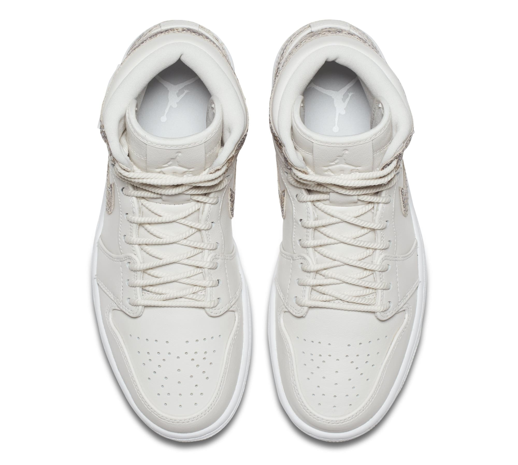 Air Jordan 1 Retro High Premium Women's Snake 'Phantom/White' AH7389-004 (Top)