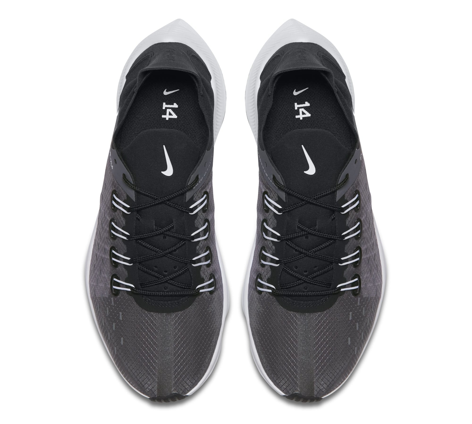 Nike WMNS EXP-X14 'Black/White/Wolf Grey' AO3170-001 (Top)