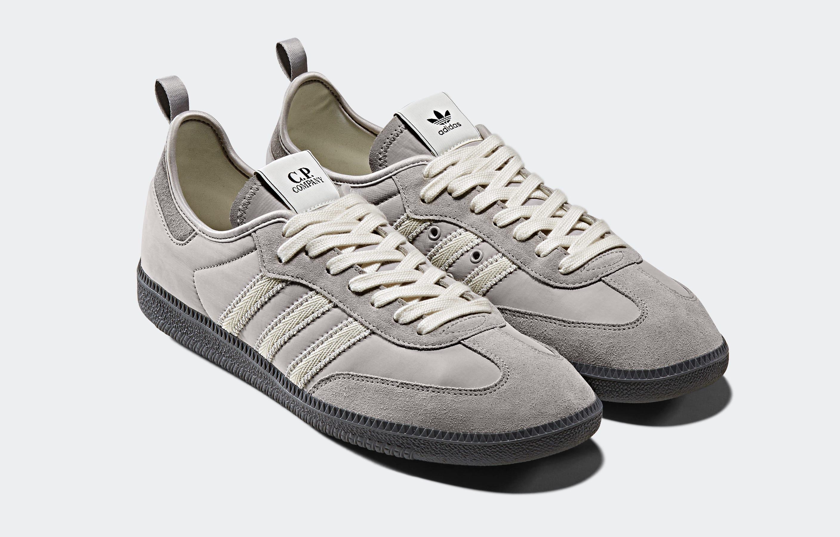 Adidas x C.P. Company Samba 'Grey' F33870