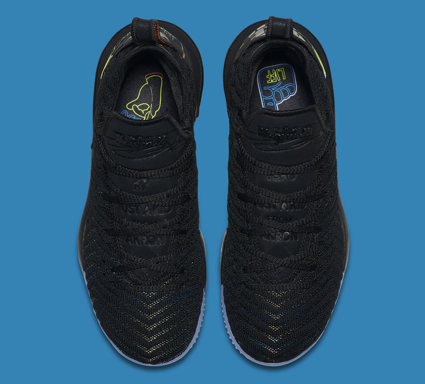 cheap for discount 86ffe 61b9e Image via Nike Nike LeBron 16 I Promise Release Date AO2595-004 Top
