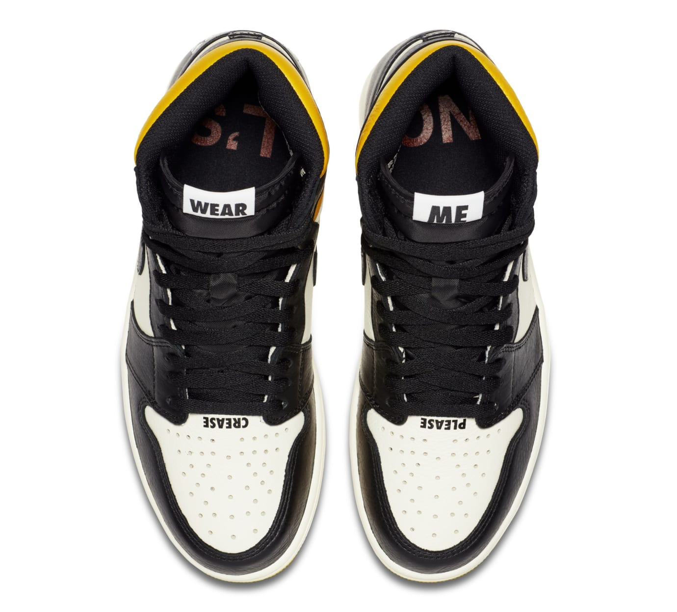 f23efa73ae0 Image via Nike Air Jordan 1 High OG  No Ls  Yellow 861428-107 (Top)