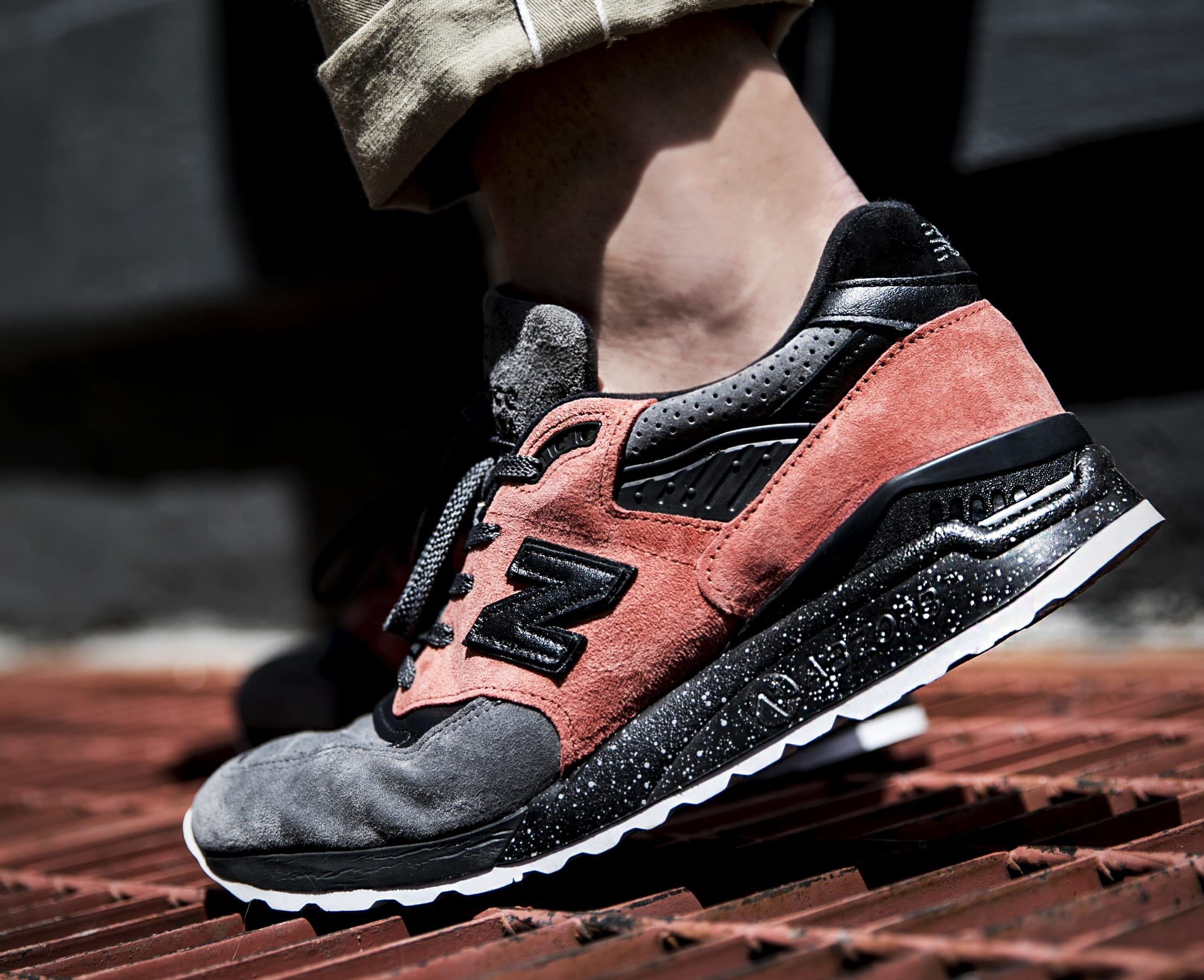 Todd Snyder x New Balance 998 NB1 'Sunset Pink' (On-Foot)