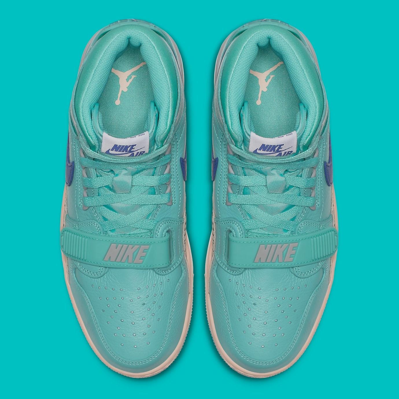 73e079580e1bd8 Image via Nike Don C x Air Jordan Legacy 312 Hyper Jade Release Date  AV3922-348 Top