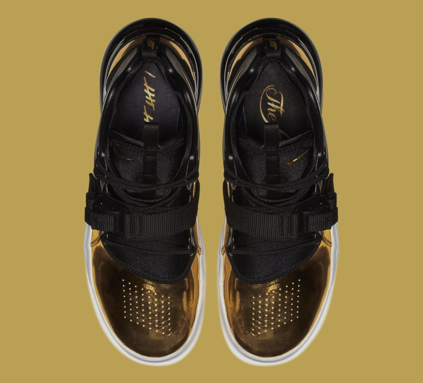 Nike Air Force 270 'Gold Standard' AT5752-700 (Top)