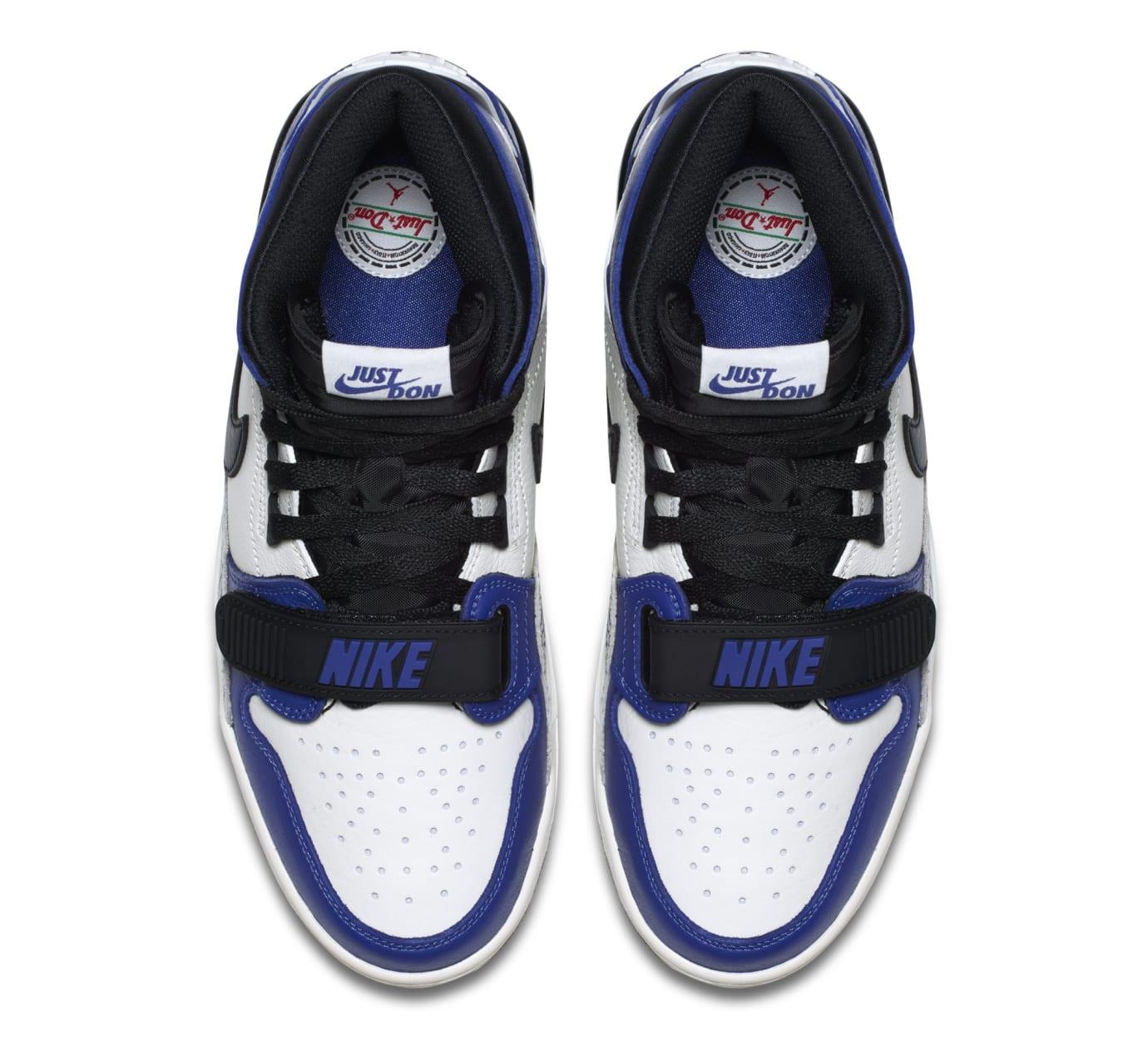 super cheap e94a9 391a8 Image via Nike Don C x Jordan Legacy 312  Storm Blue  AQ4160-104 (Top)