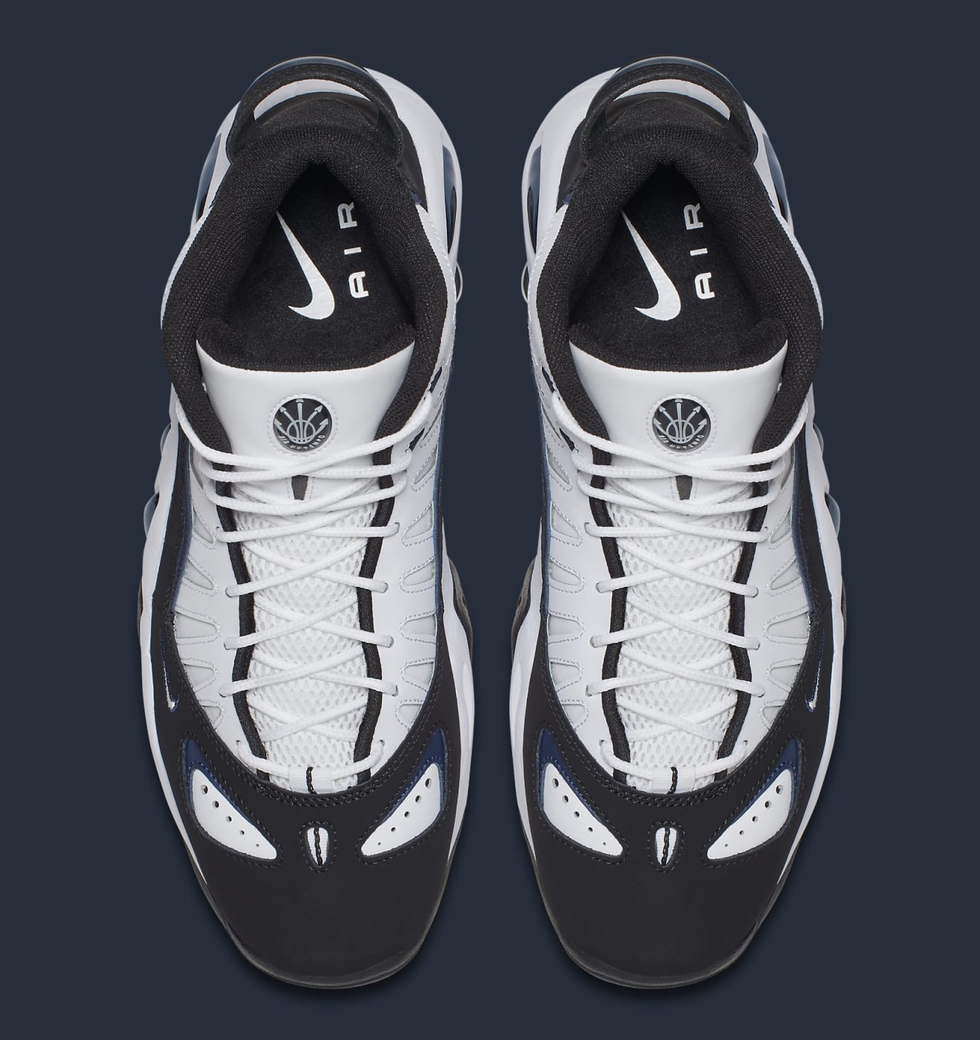 Nike Air Max Uptempo 97 White Black College Navy Release