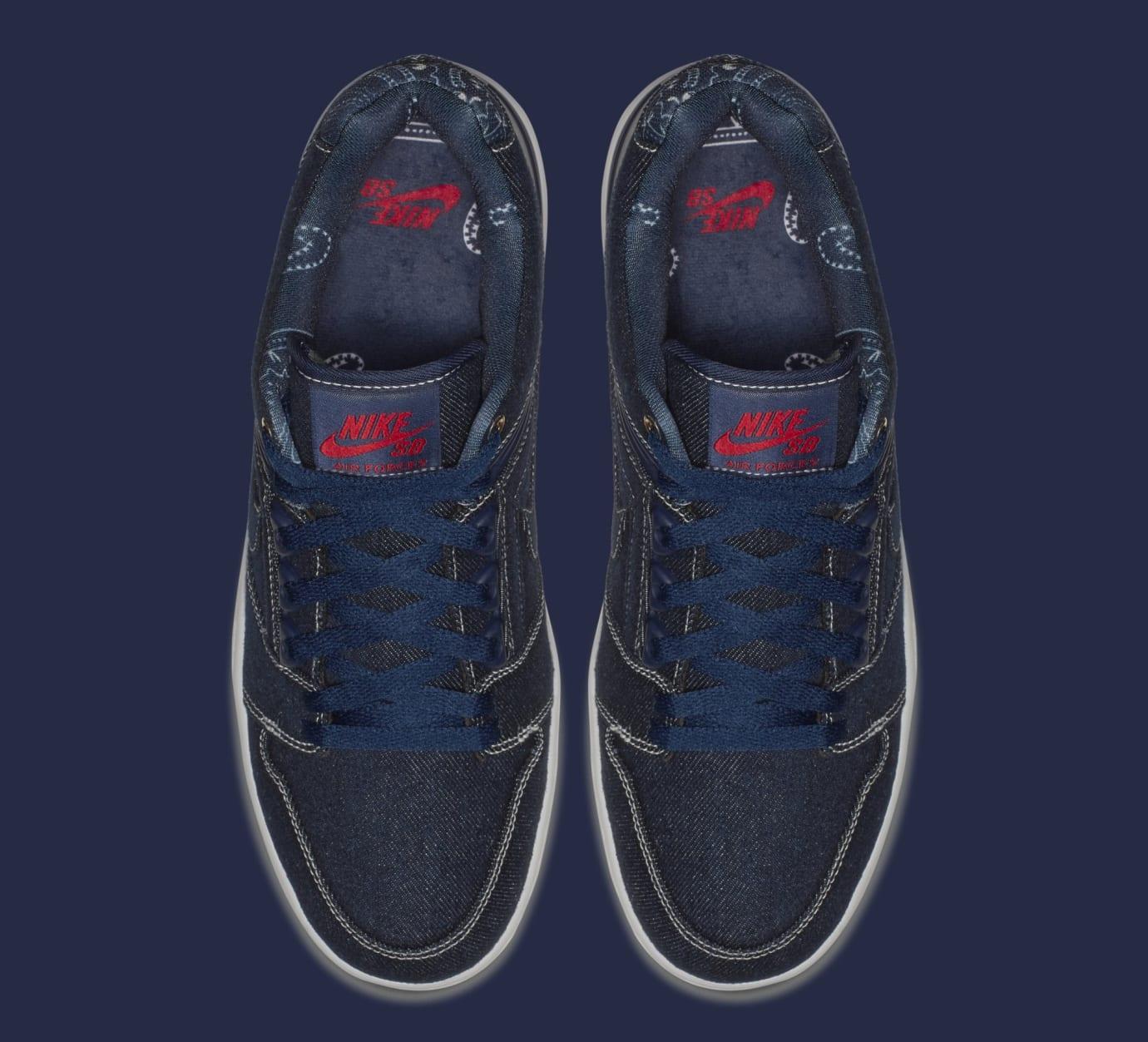 Nike SB Air Force 2 Low '2pac' AO0298-441 (Top)