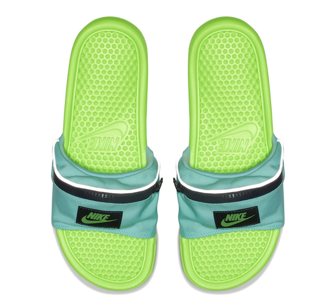 5812f6045445 Image via Nike US11 · Nike Benassi JDI  Fanny Pack  Green (Top)
