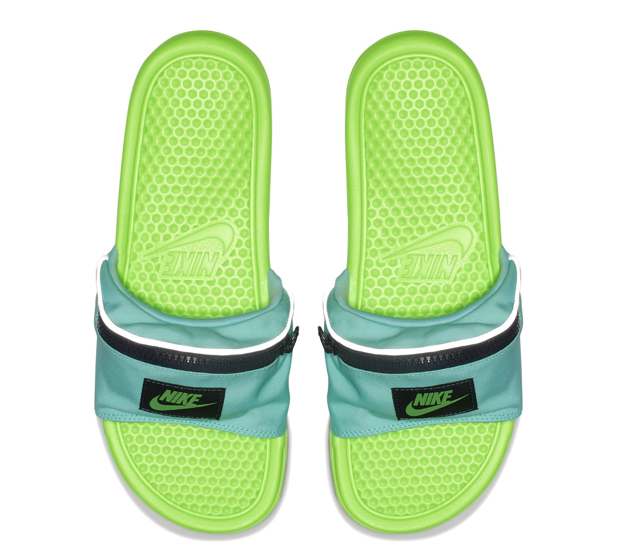 Nike Benassi JDI 'Fanny Pack' Green (Top)