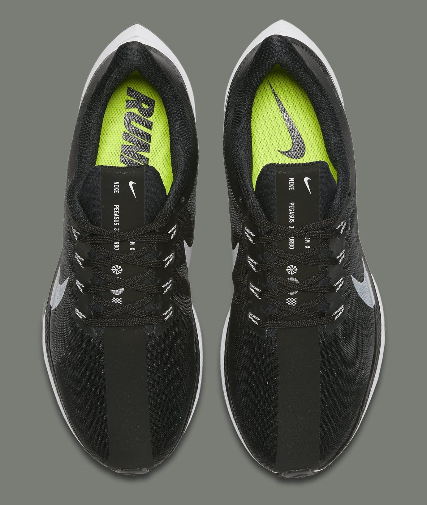 best loved 029c3 3a2ce Nike Zoom Pegasus Turbo Black Metallic Silver Release Date ...