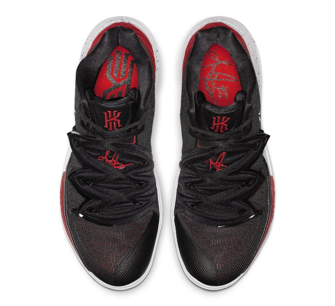 8dda0e693a23 Image via Nike Nike Kyrie 5  University Red Black  AO2919-600 (Top)