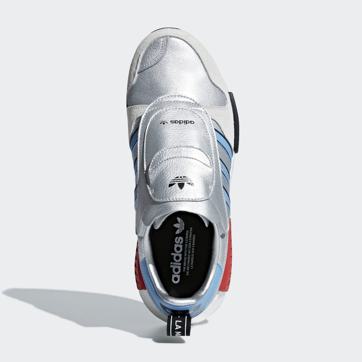 Adidas Micropacer NMD R1 Silver Release Date G26778 Top