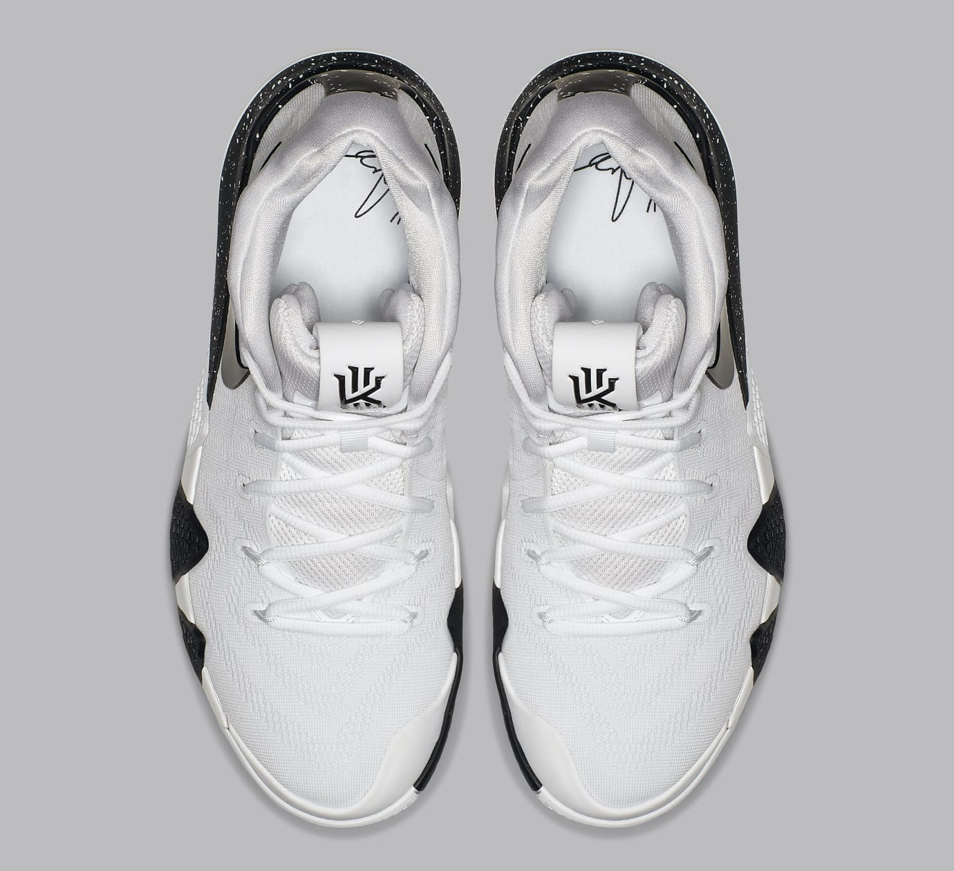 big sale 0cafc 89b4a Nike Kyrie 4 White Black Release Date AV2296-100 | Sole ...