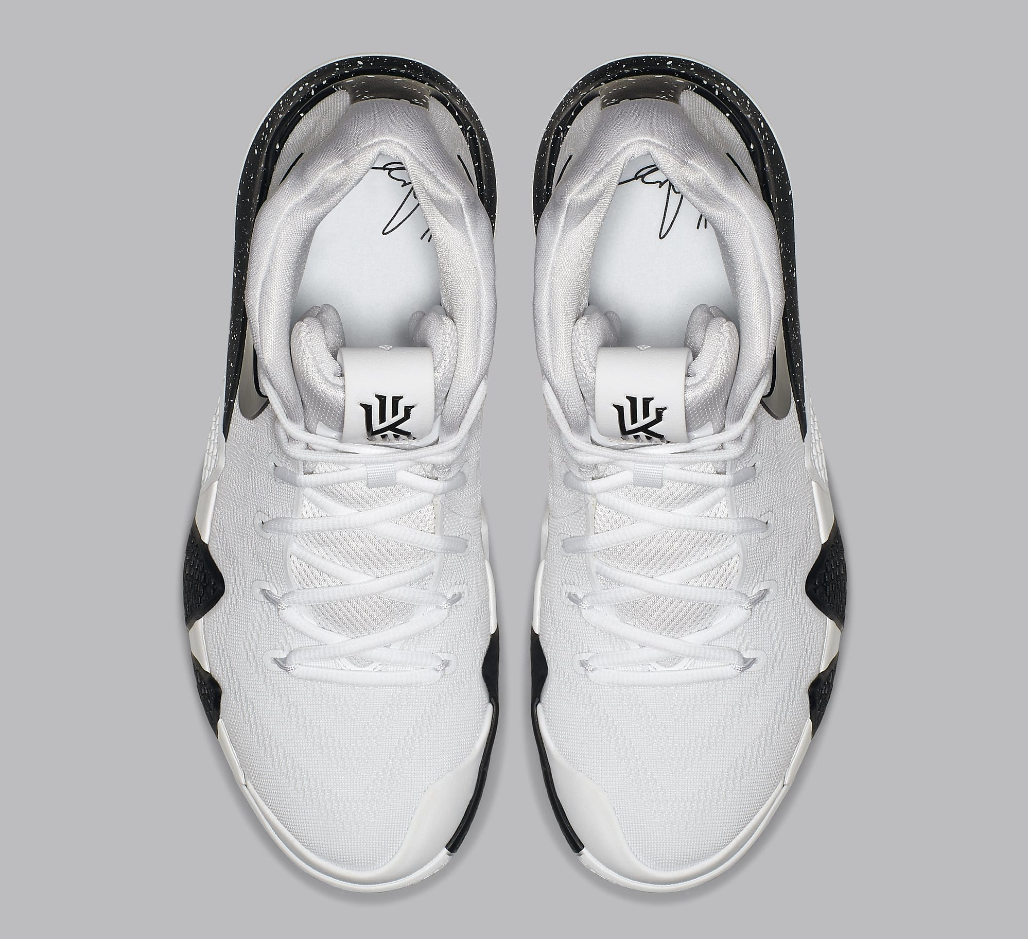 a09de1dfac03 ... purchase image via nike nike kyrie 4 white black release date av2296 100  top e9656 3958d