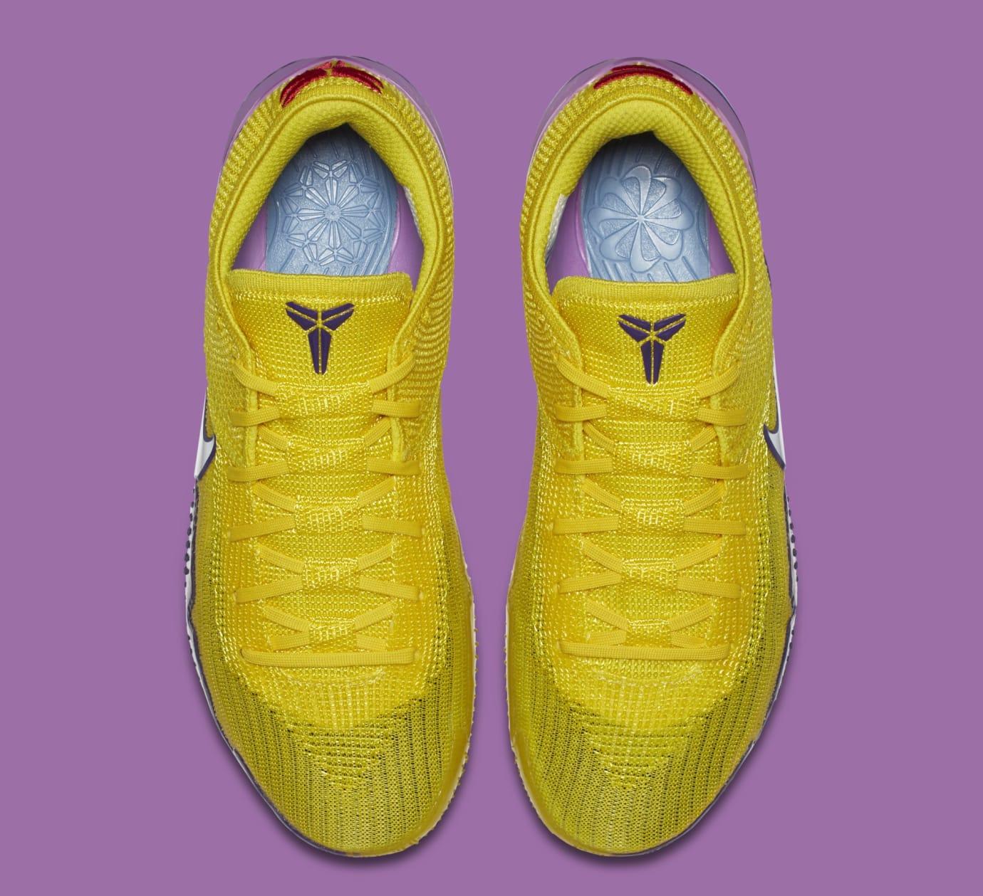 13be7c9da0bc Image via Nike Nike Kobe AD NXT 360  Yellow Strike White  AQ1087-100 (Top
