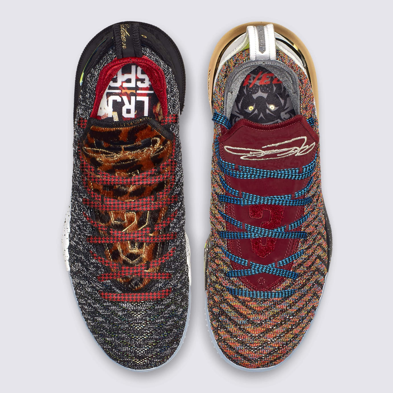 detailed look cf9c7 db294 Nike LeBron 16 What The 1 Thru 5 Release Date BQ6580-900 ...