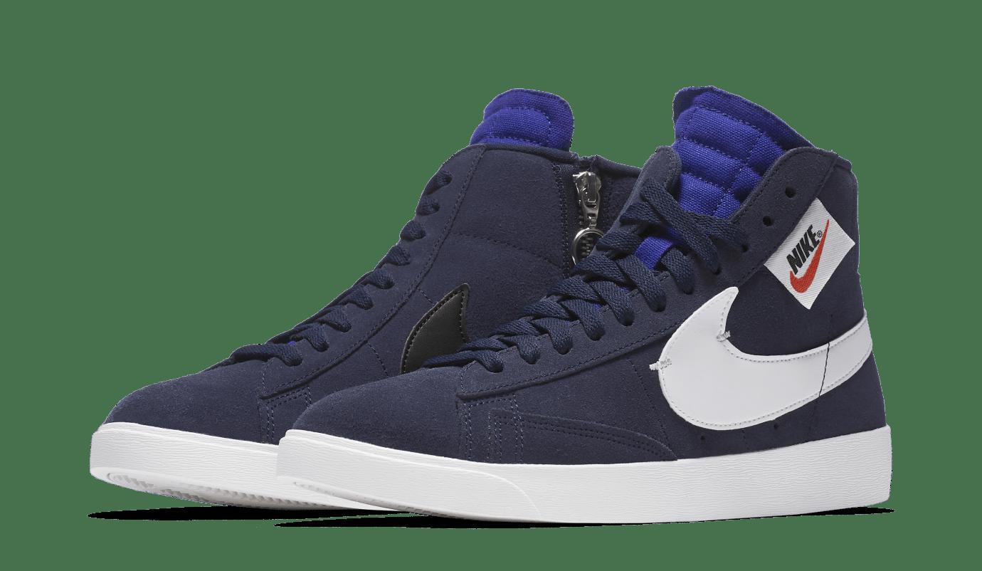 Nike WMNS Blazer Rebel 'Blackened Blue' BQ4022-401 (Pair)