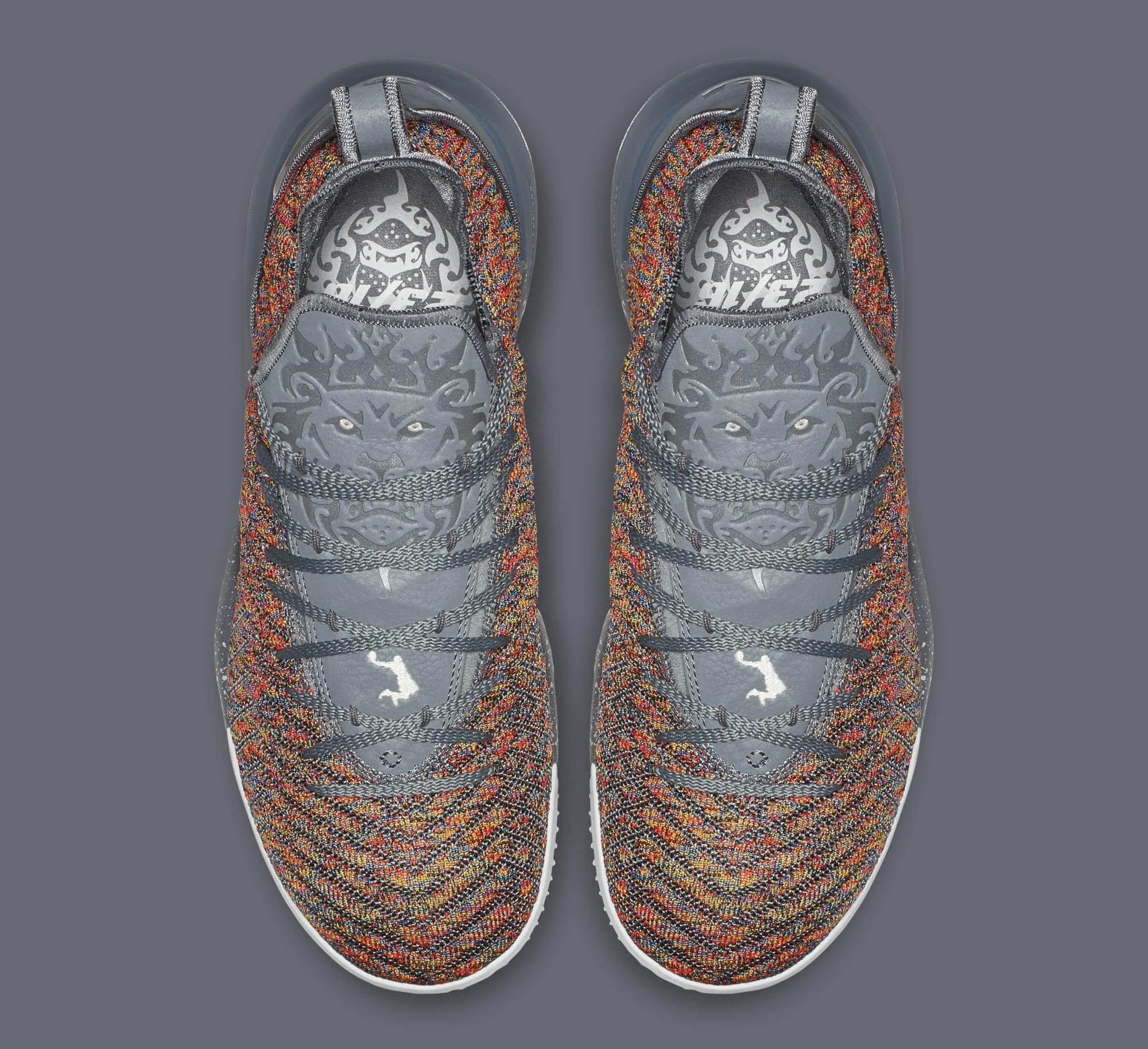 Nike LeBron 16 'Multicolor' BQ5969-900 (Top)