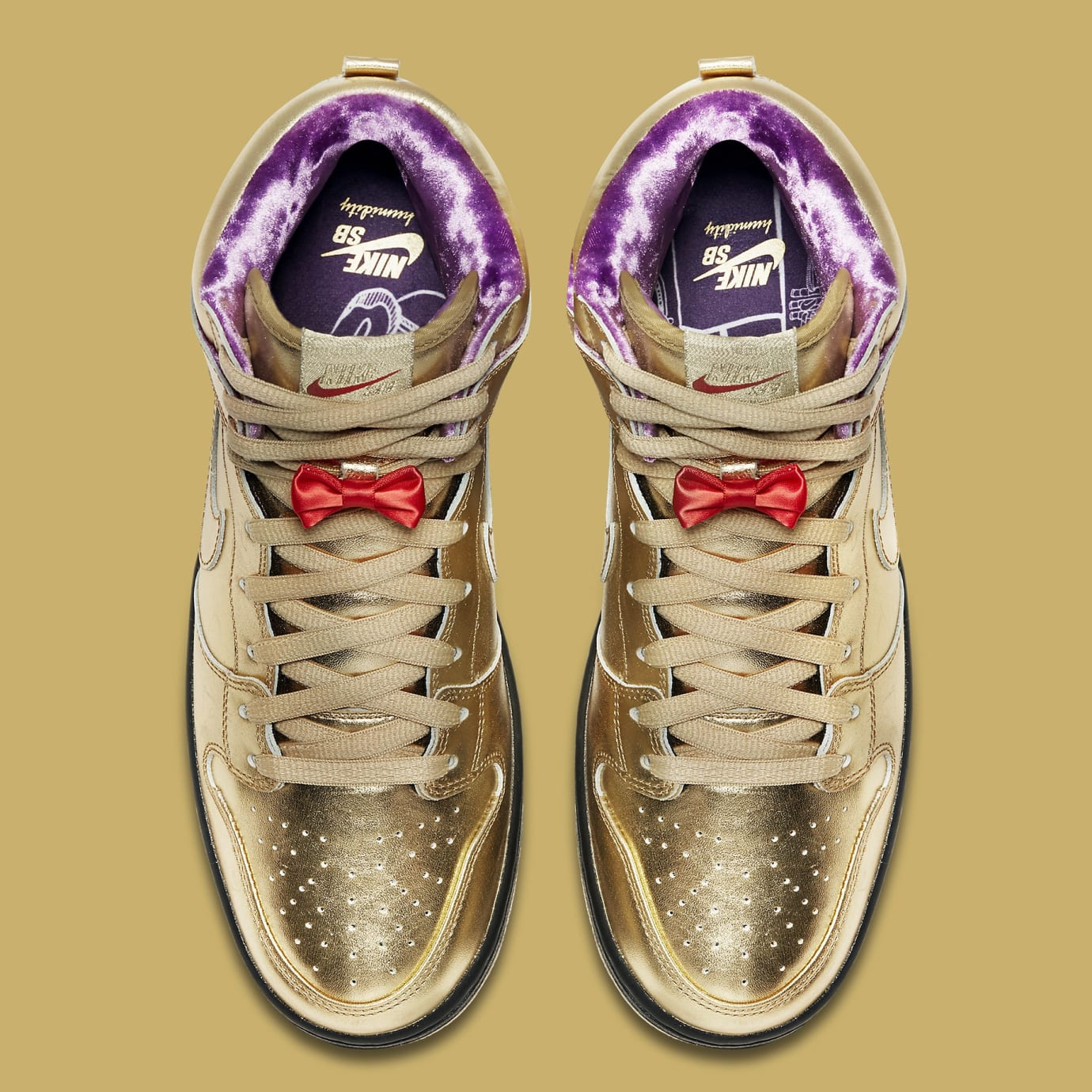 the best attitude c9bea e7c03 Humidity x Nike SB Dunk High Trumpet Tricentennial Release ...
