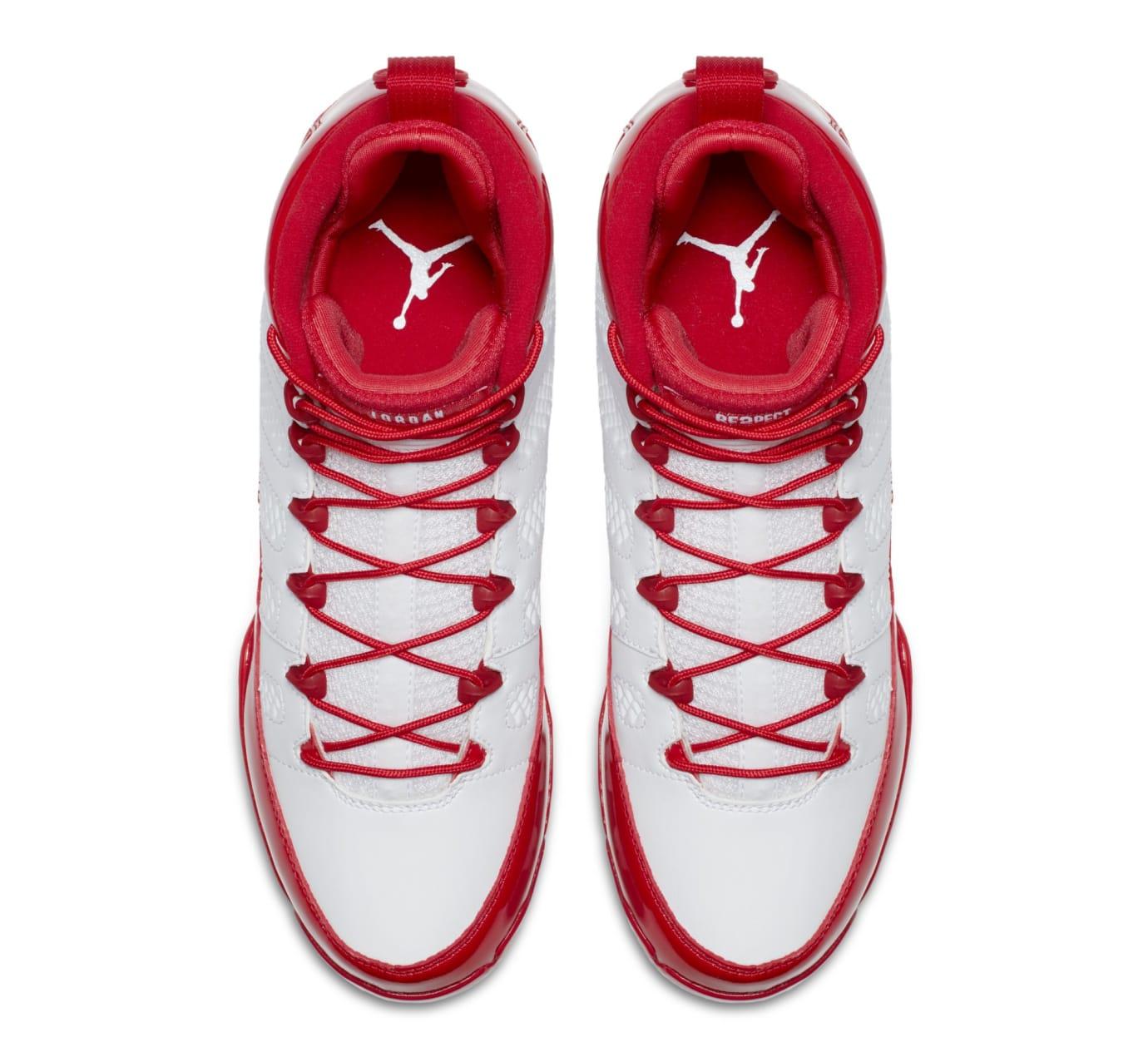 Air Jordan 9 IX MCS Baseball Cleats Red Top