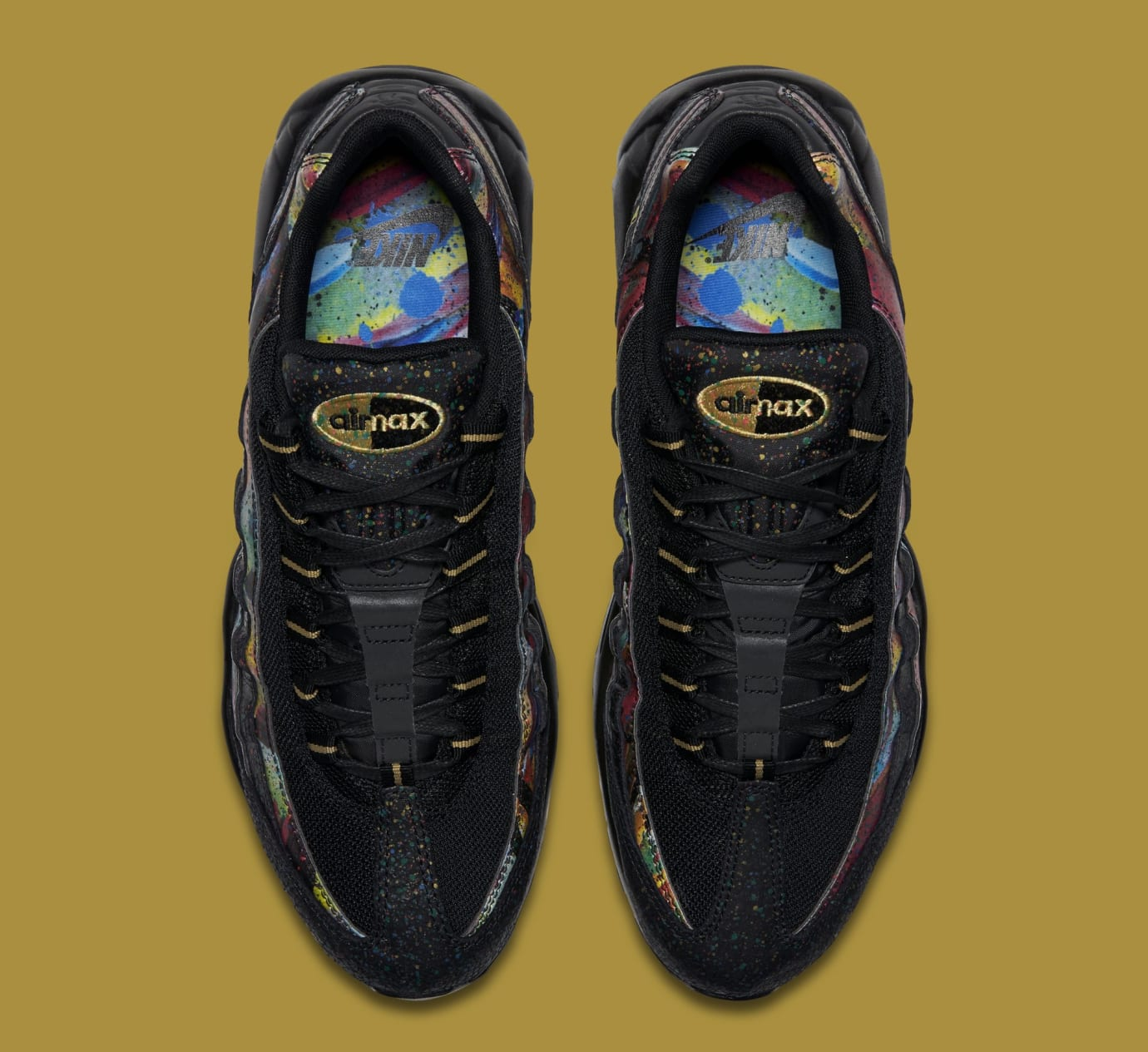 919d14bbf7 Nike Air Force 1 Low Air Max 95 'Caribana' Pack Release Date   Sole ...