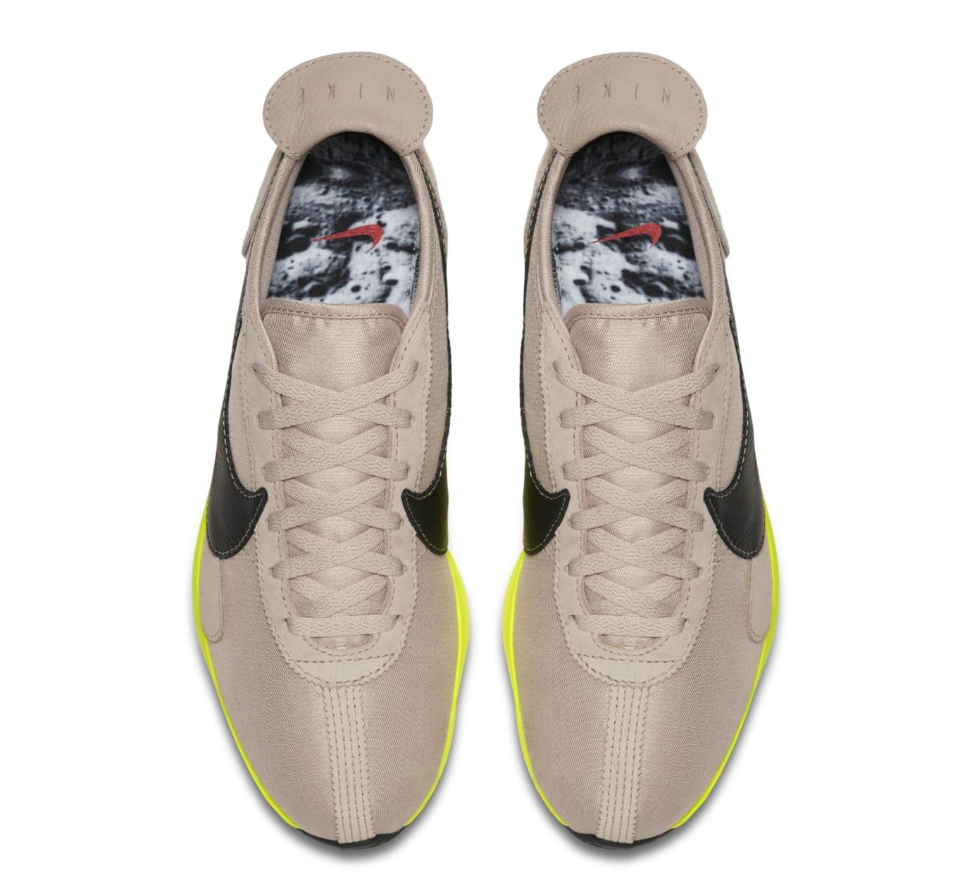 Image via Nike Nike Moon Racer  Black Sail Volt  AQ4121-200 (Top) 3912430a8