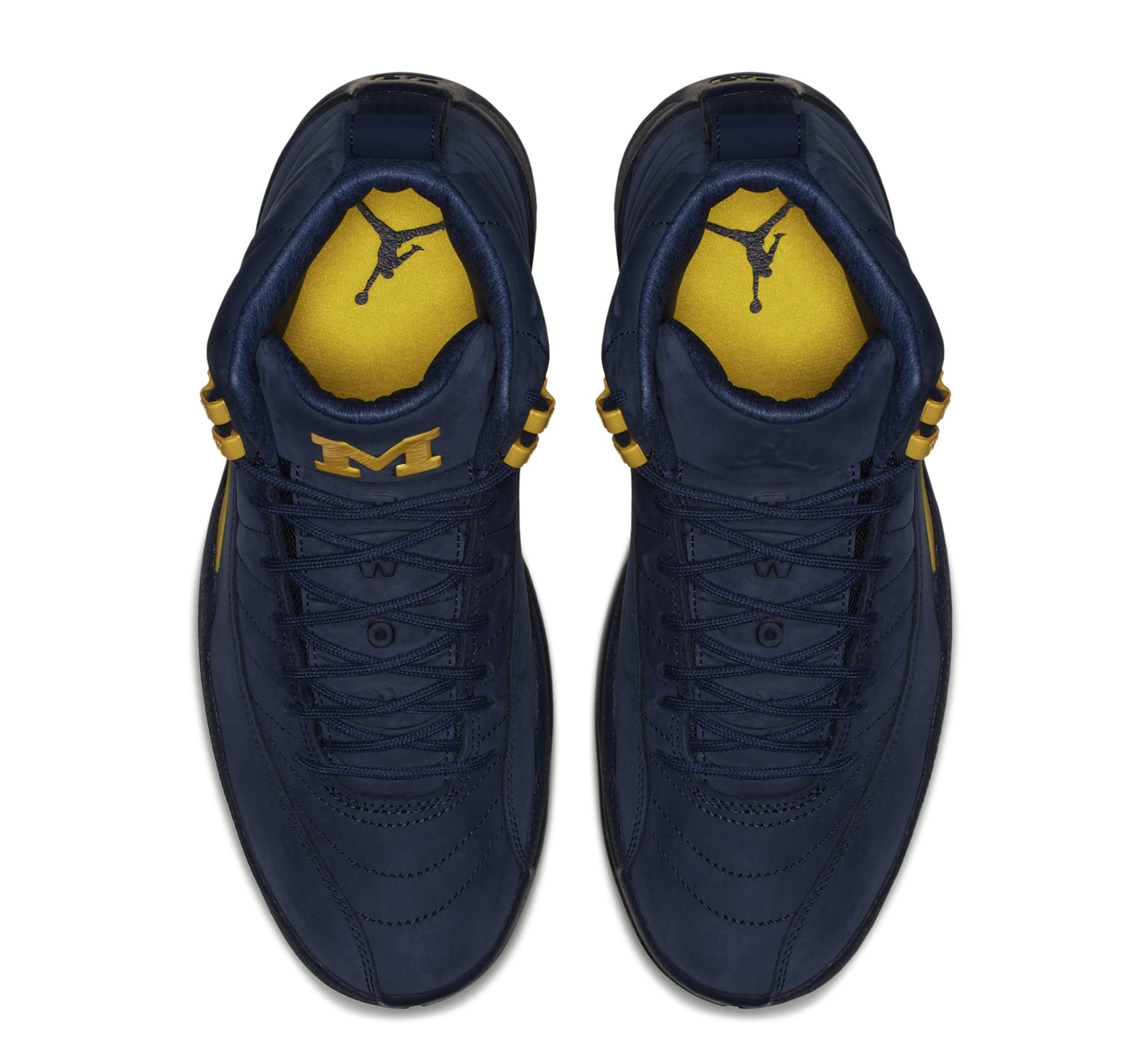 Air Jordan 12 'Michigan' BQ3180-407 (Top)