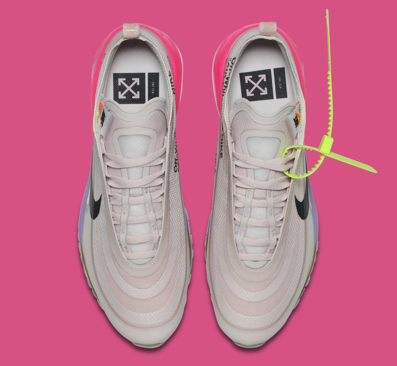 Image via Nike Off-White x Nike Air Max 97 Serena Williams  Queen   AJ4585-600 825c6b37b