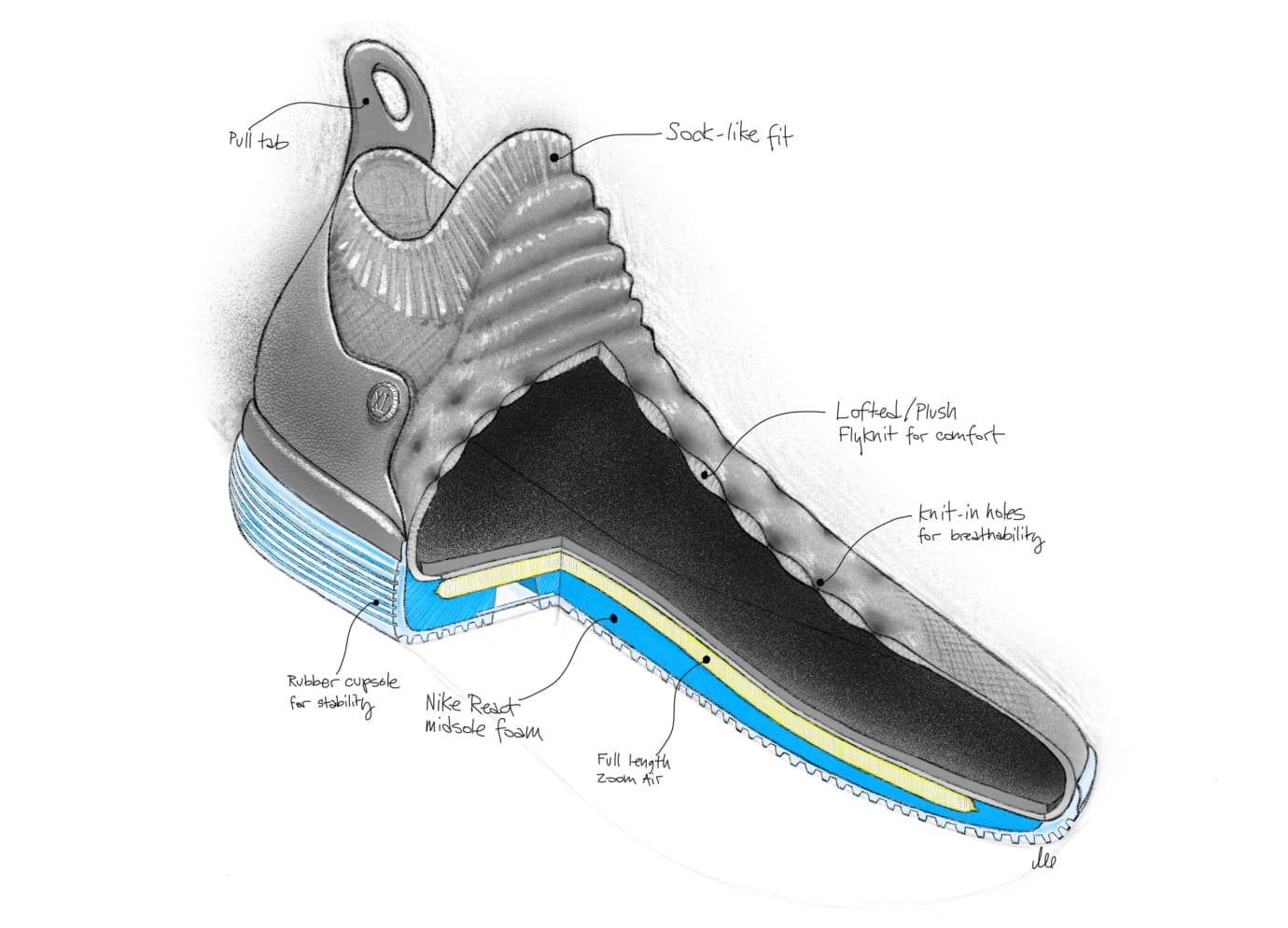 free shipping 4955d 939fc Nike KD 11 Sketch