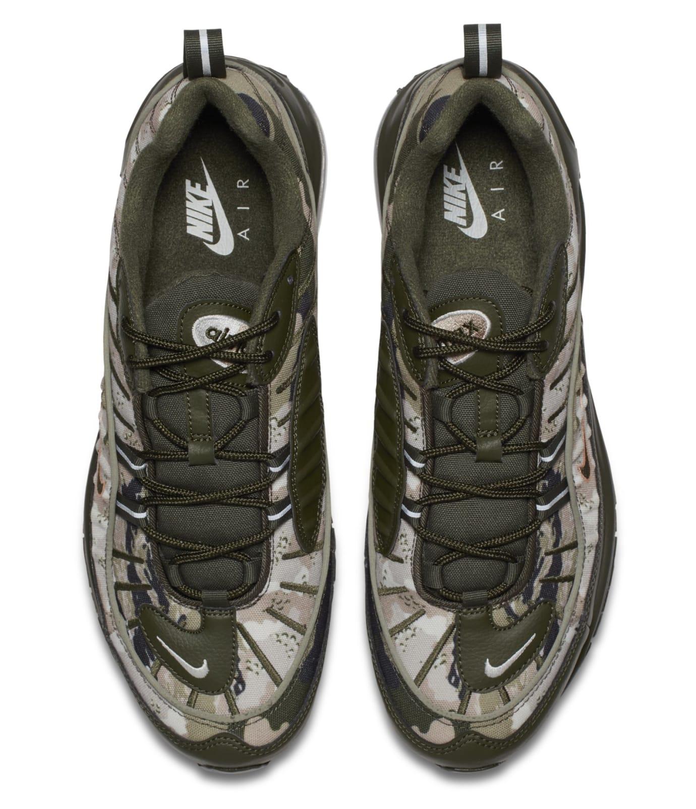 super popular 5a516 28ad4 Image via Nike Nike Air Max 98 Cargo KhakiSunset Tint AQ6165-300 (Top