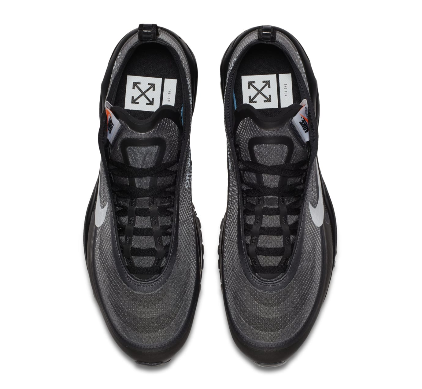 Off White x Nike Air Max 97 OG BlackConeBlackWhite AJ4585