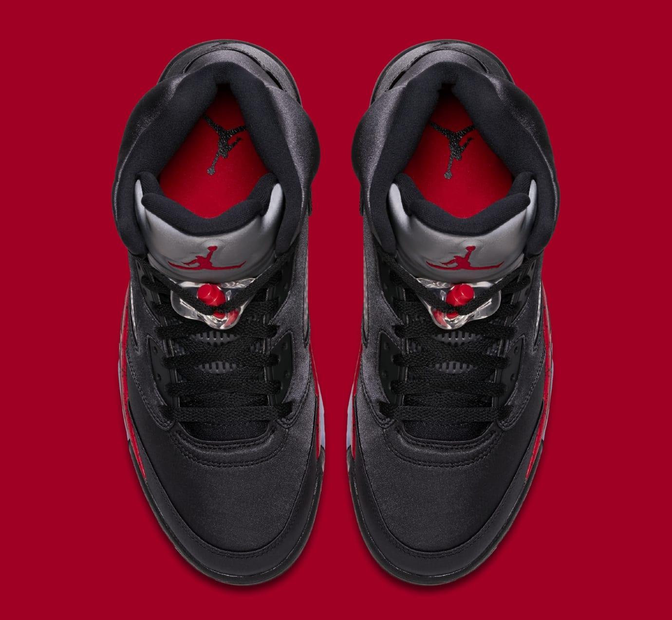 de160bc4489 Image via Nike Air Jordan 5 Retro 'Black/University Red' 136027-006 (Top)