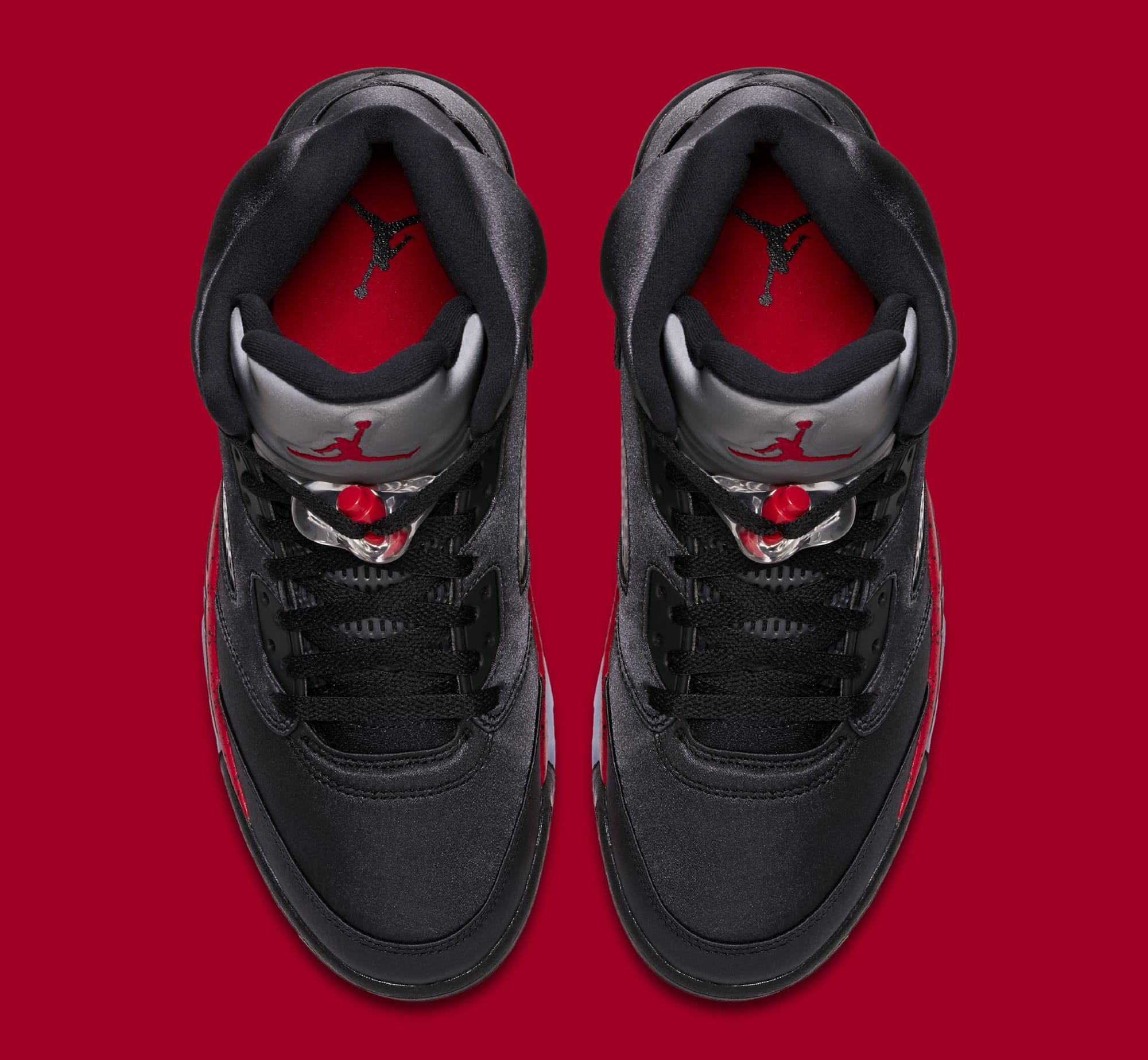 cheap for discount 106ba b8472 ... canada image via nike air jordan 5 retro black university red 136027 006  top 47543 4bdb2