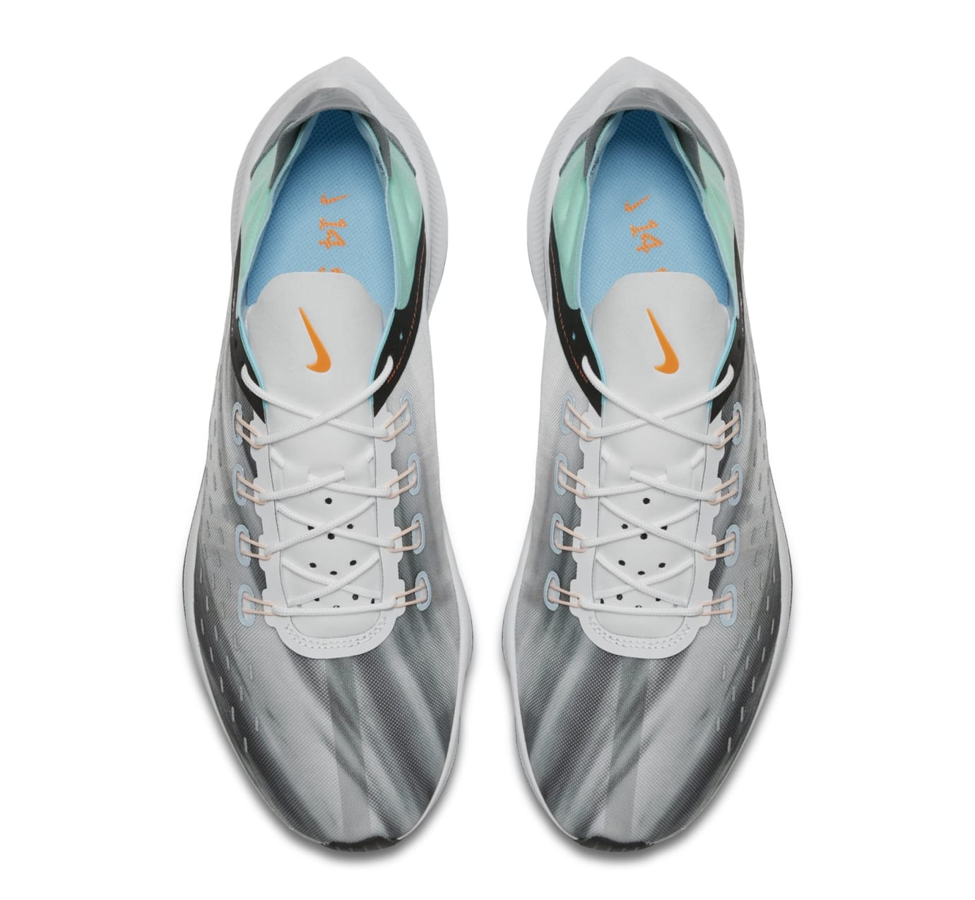 Nike EXP-X14 QS 'White/Emerald Rise/Cone/Blue Chill' BQ6972-100 (Top)