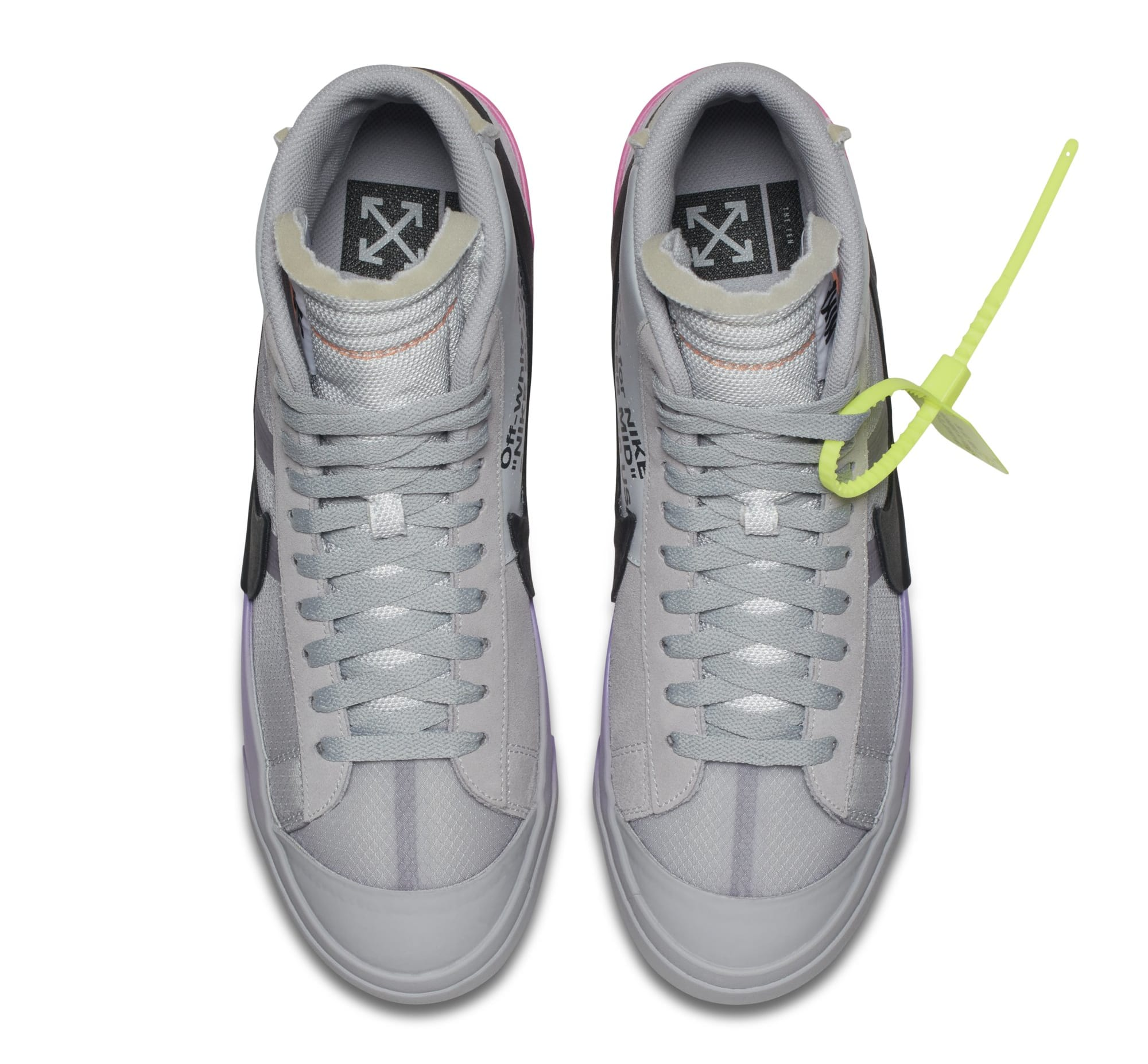 Serena Williams x Off-White x Nike Blazer Mid 'Queen' AA3832-002 (Top)