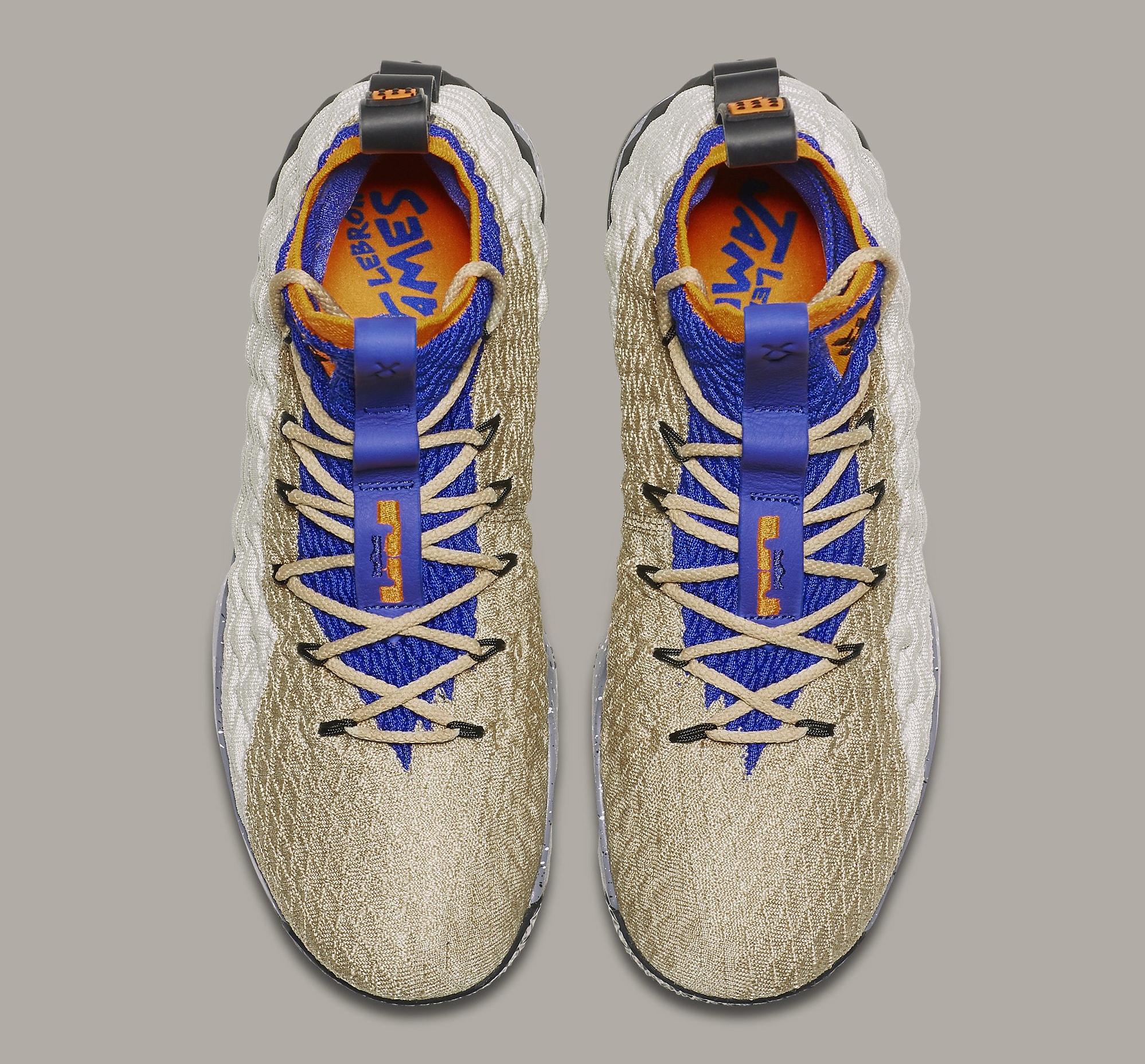 Nike LeBron 15 Mowabb Release Date AR4831-900 Top