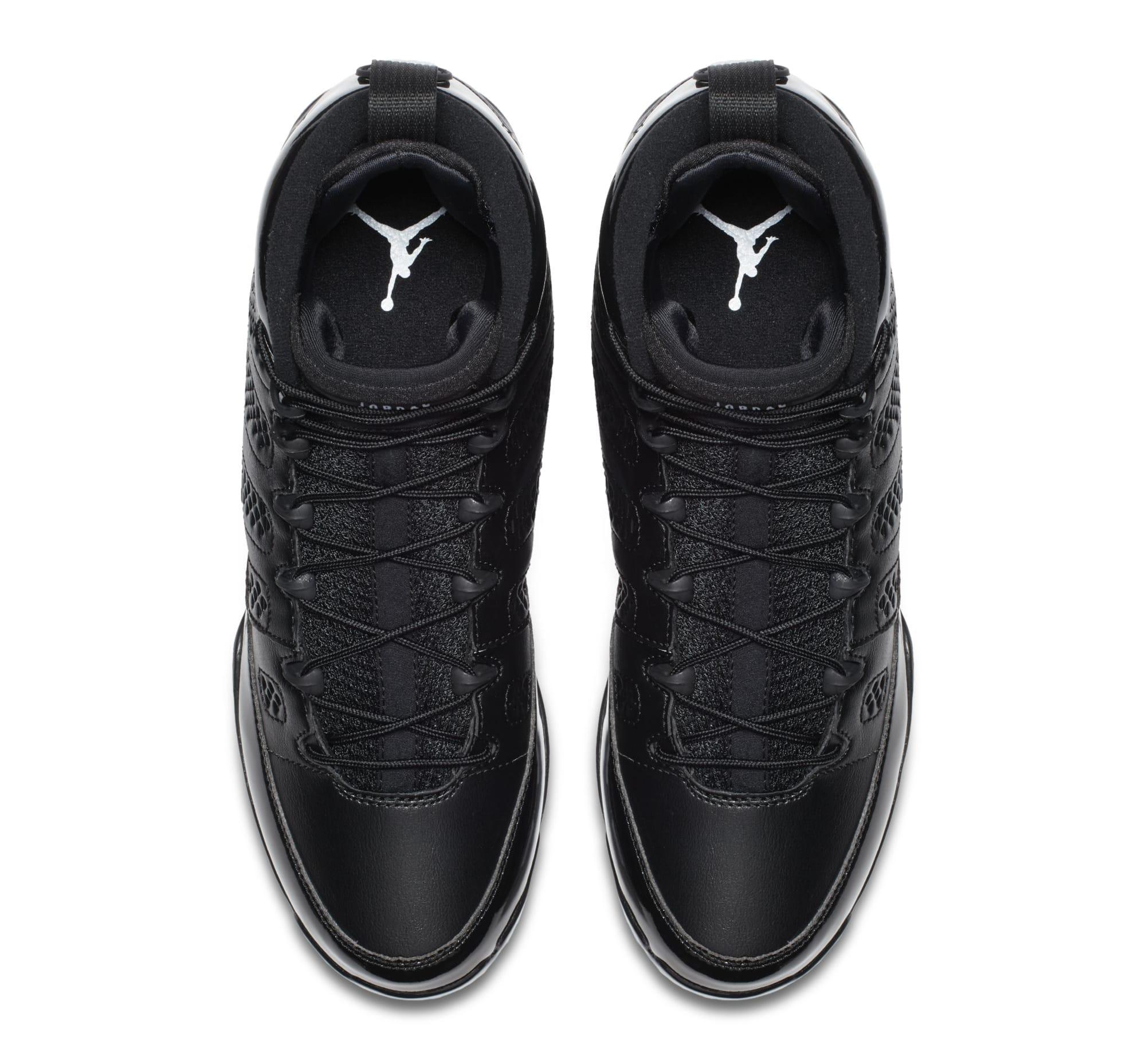 ... Air Jordan 9 IX MCS Baseball Cleats Black Top ...