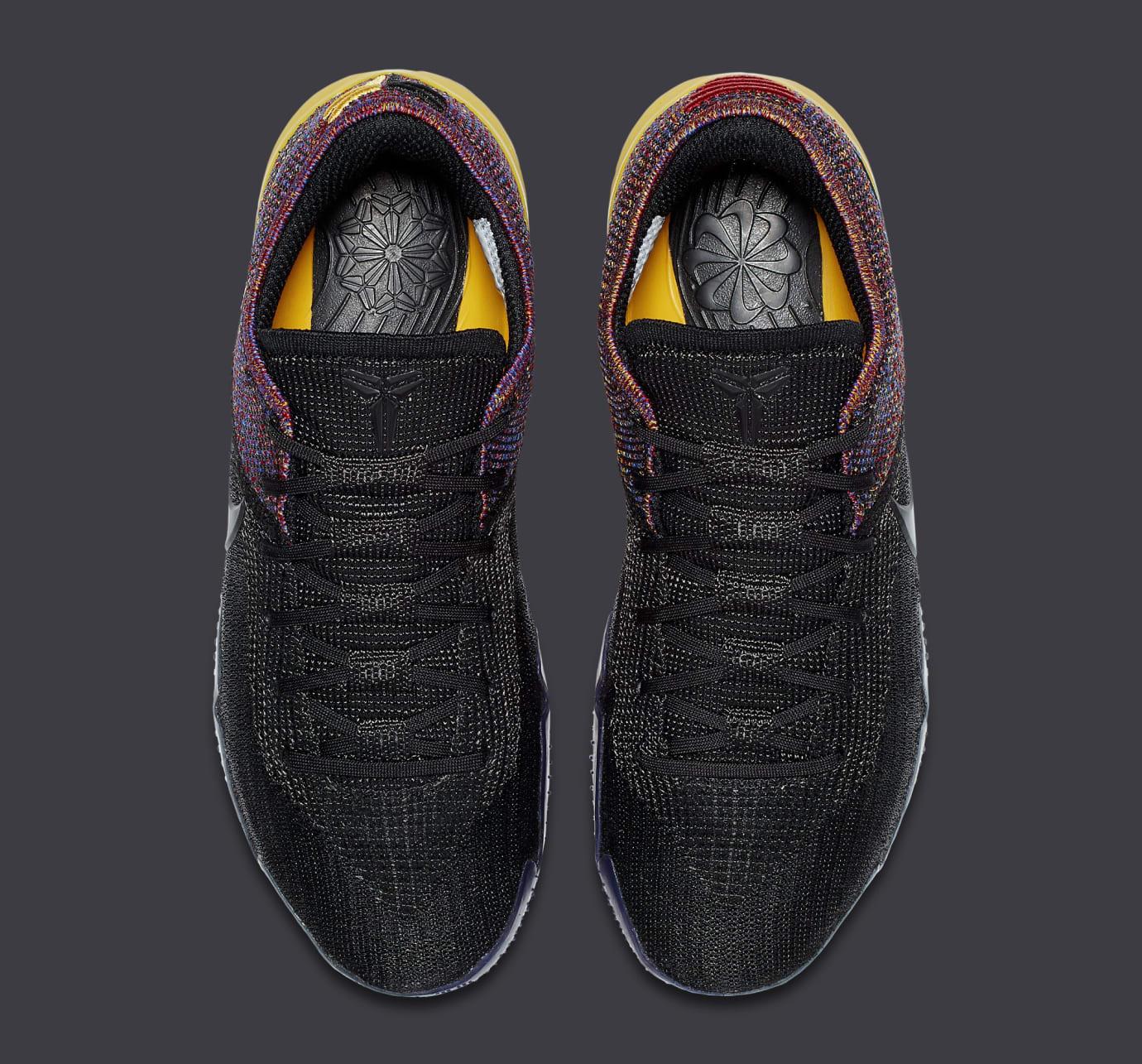 57289e07b9a Image via Nike Nike Kobe A.D. NXT 360 Black Multicolor Release Date AQ1087- 002 Top