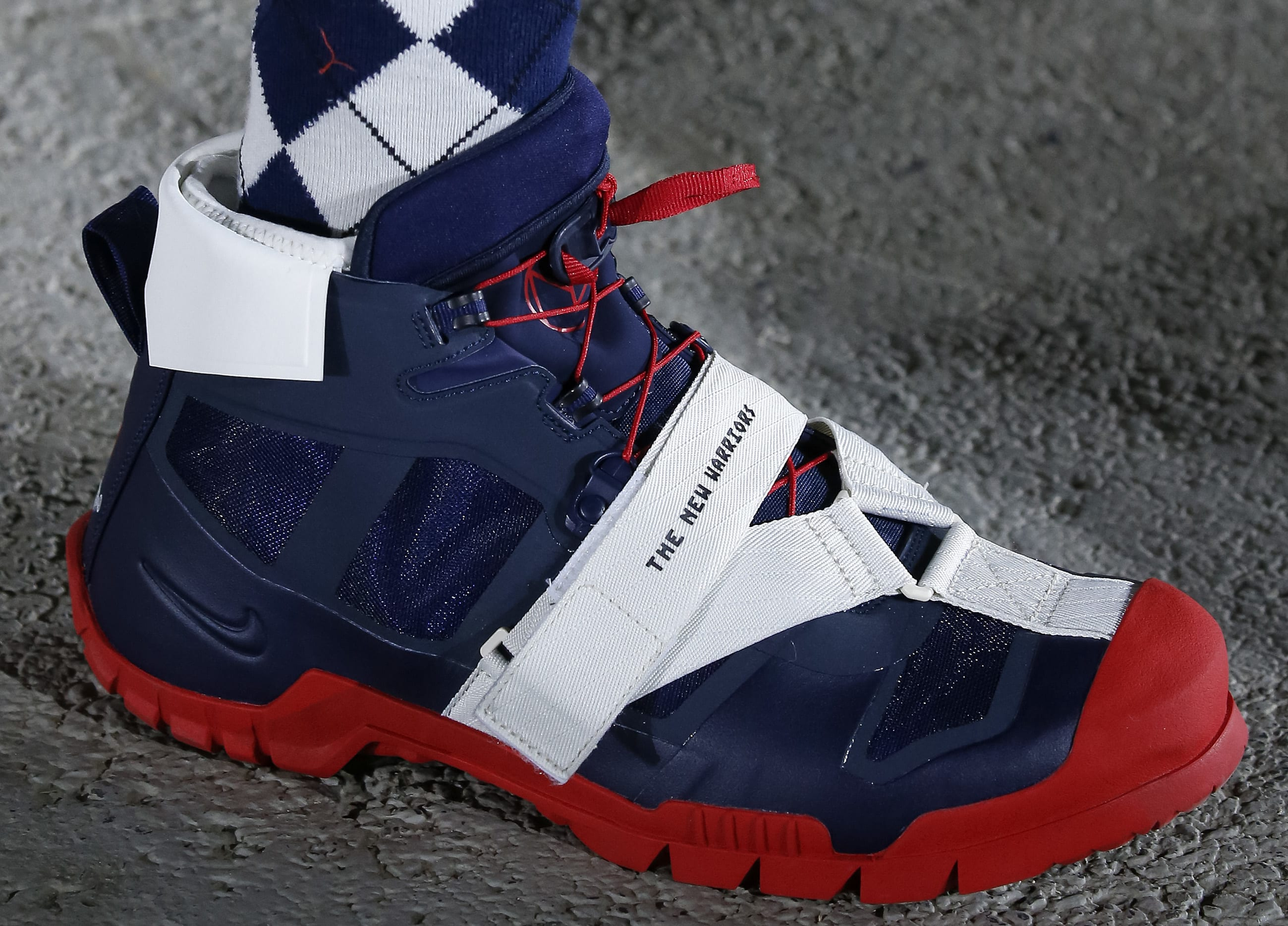 Undercover x Nike Paris Fashion Week Navy/Red High-Top