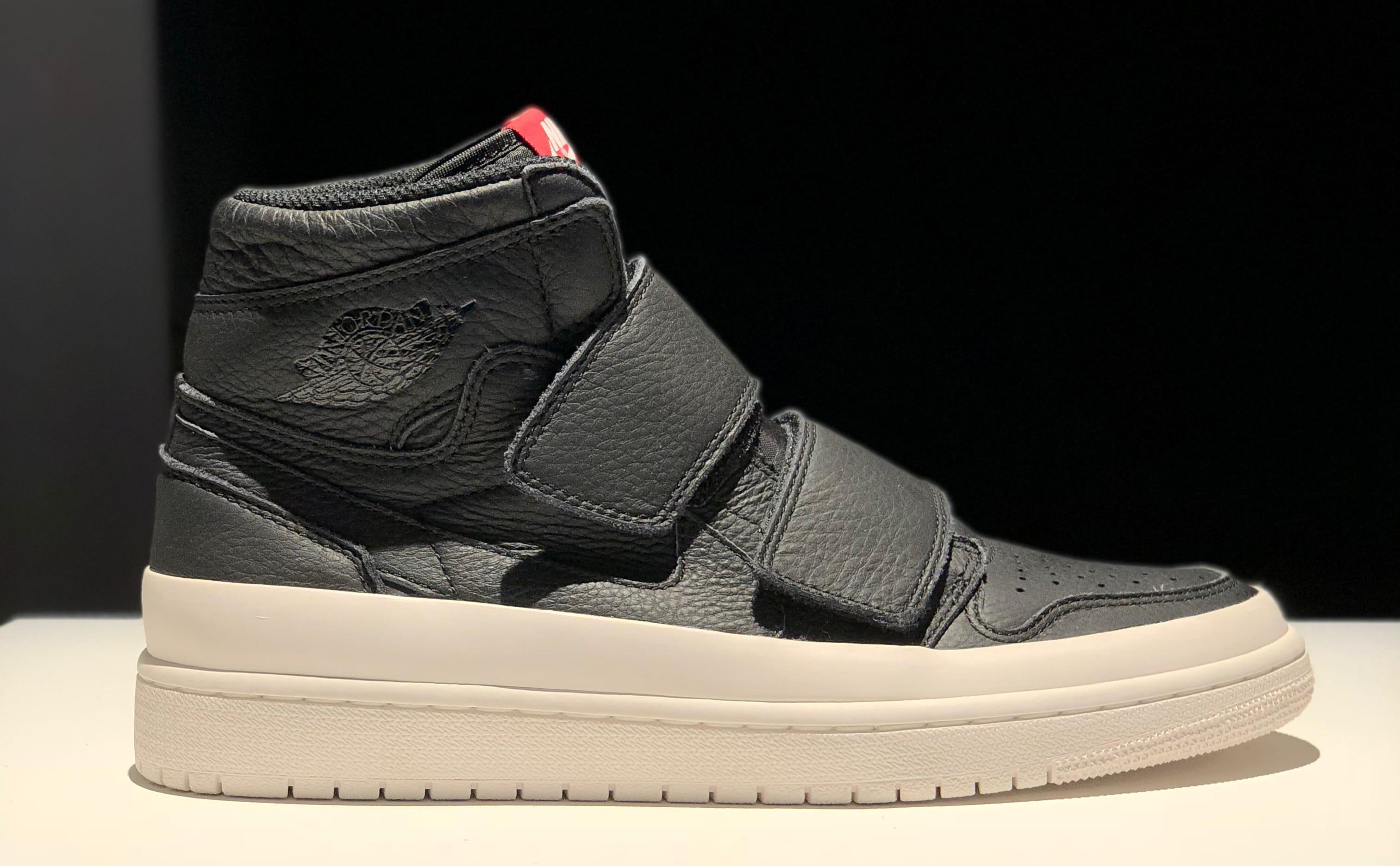 Air Jordan 1 High Velcro Men's Black