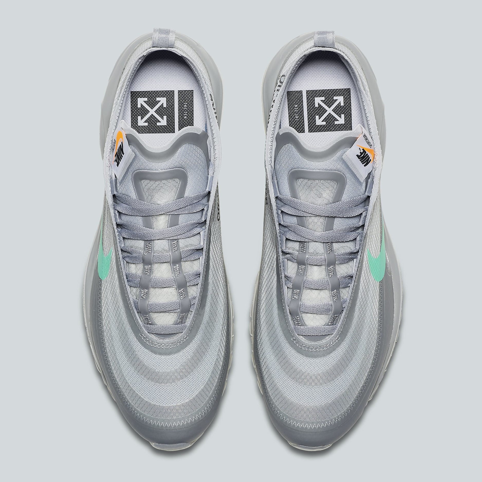 air max 97 off white menta replica