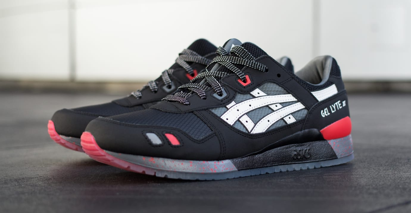 G.I. Joe x Asics Gel-Lyte III 'Snake Eyes' 2