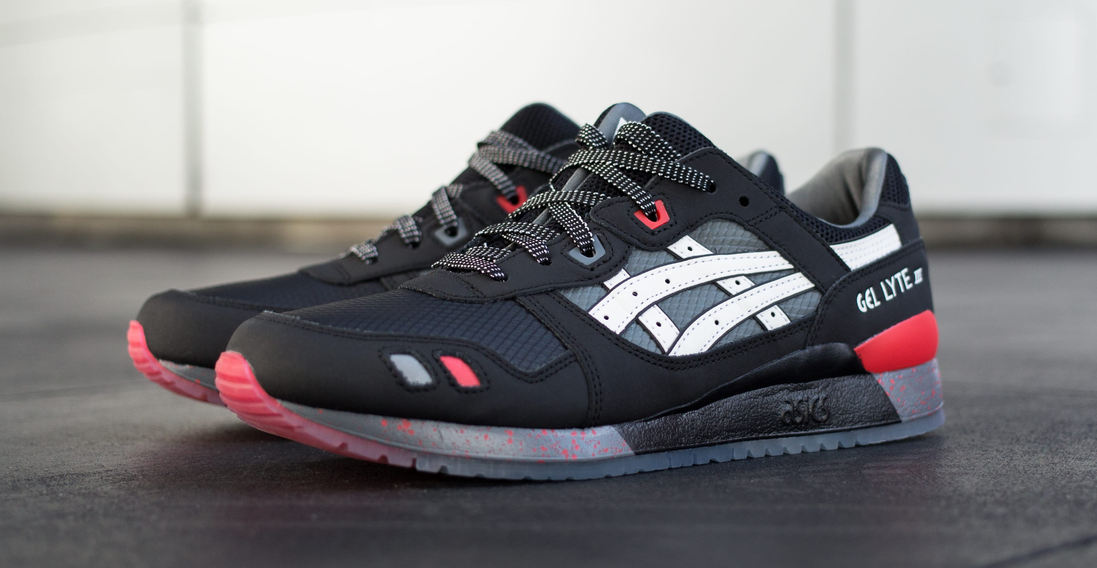 G.I. Joe x Asics Gel Lyte III 'Storm Shadow' 'Snake Eyes