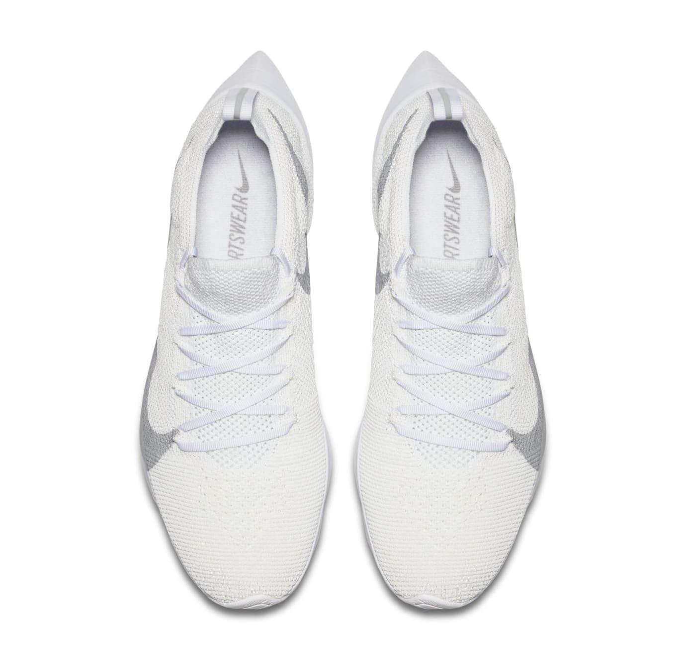 91ccf7eac8bdf Image via Nike Nike Vapor Street Flyknit  White Wolf Grey  AQ1763-100 (Top)