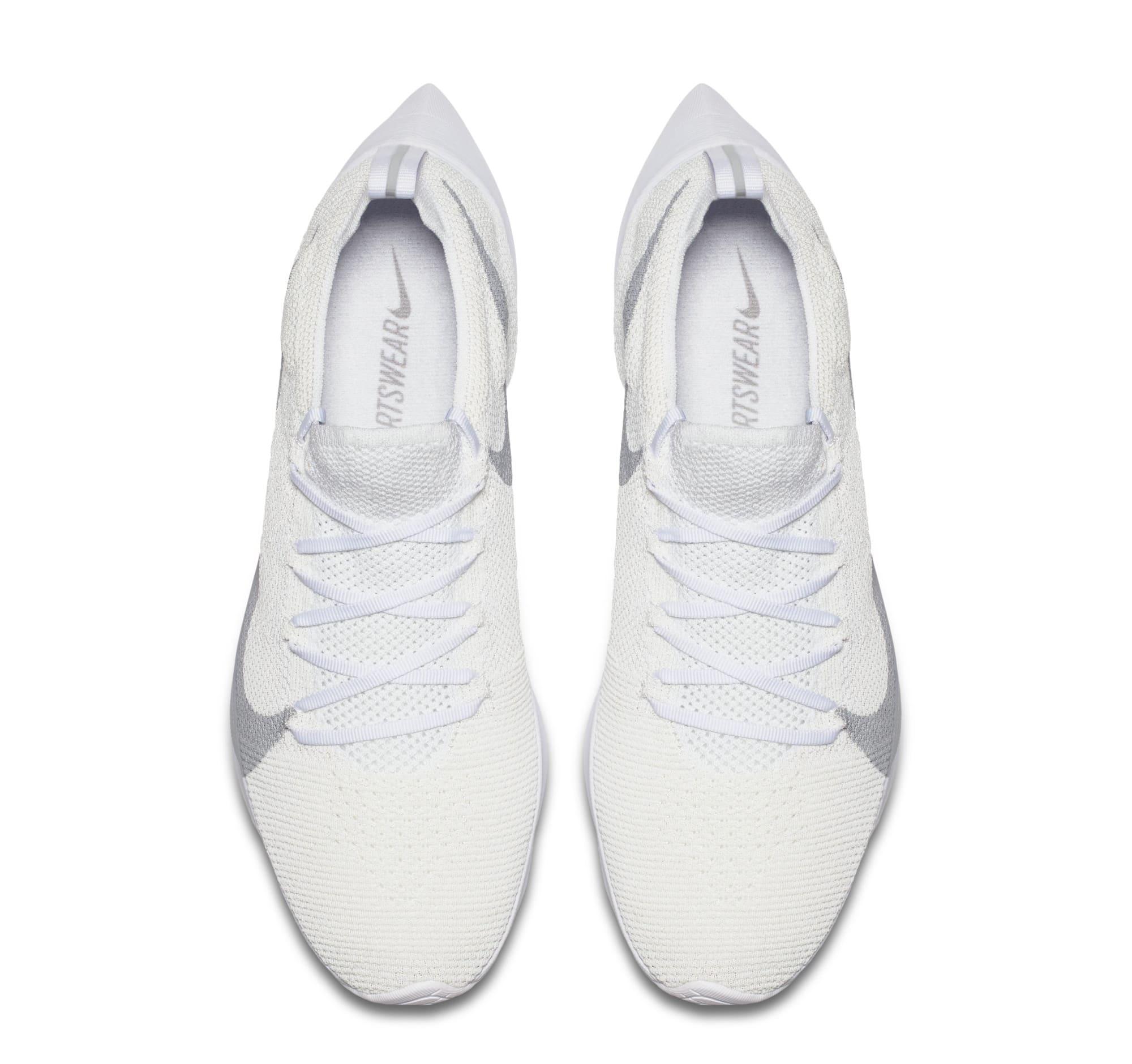 Nike Vapor Street Flyknit 'White/Wolf Grey' AQ1763-100 (Top)