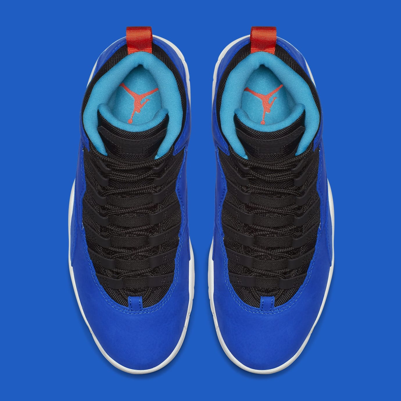 5d40355aa347 Image via Nike Air Jordan 10 X Tinker Huarache Light Release Date  310805-408 Top