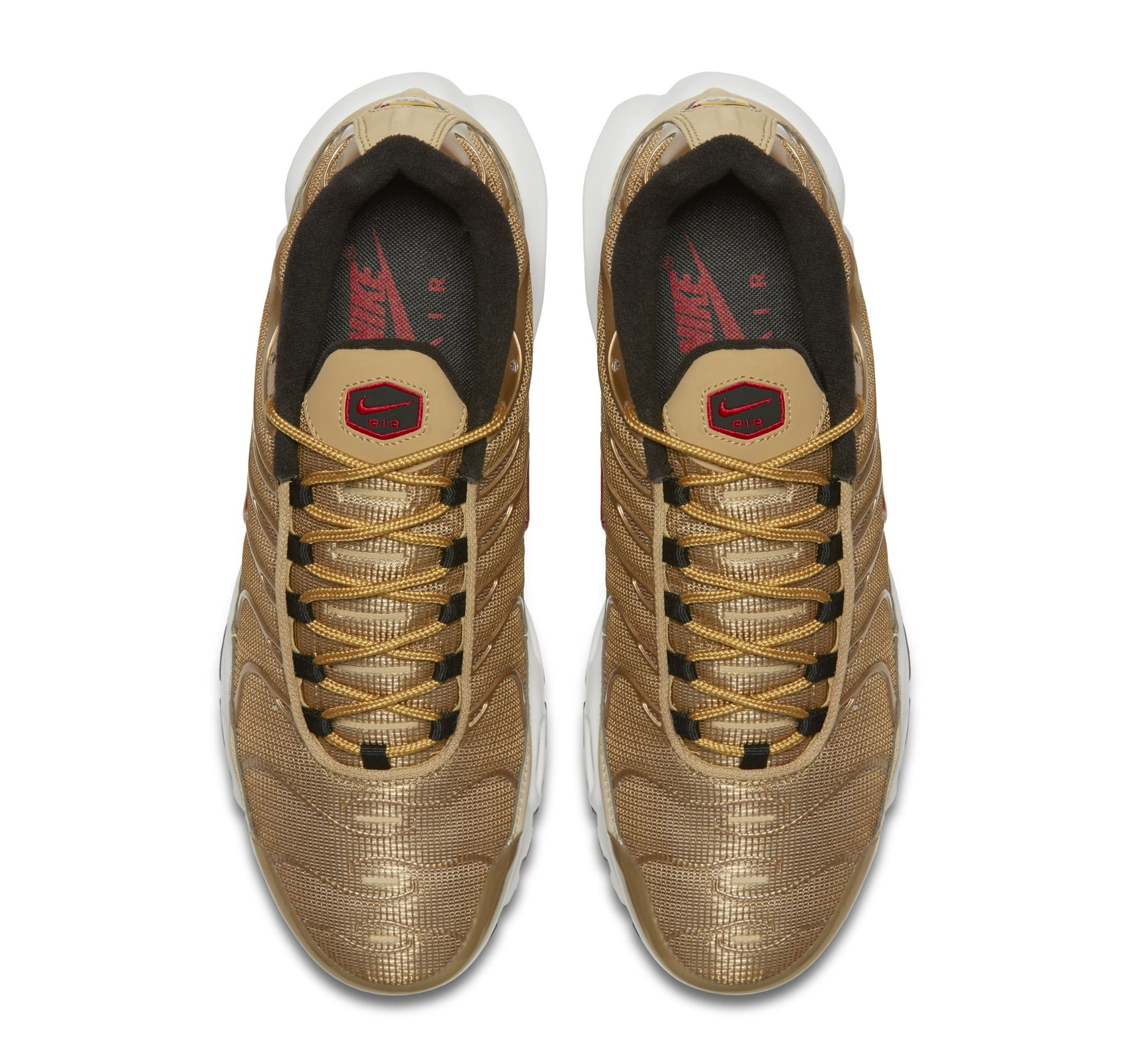 Nike Air Max Plus 'Metallic Gold' 903827-700 (Top)