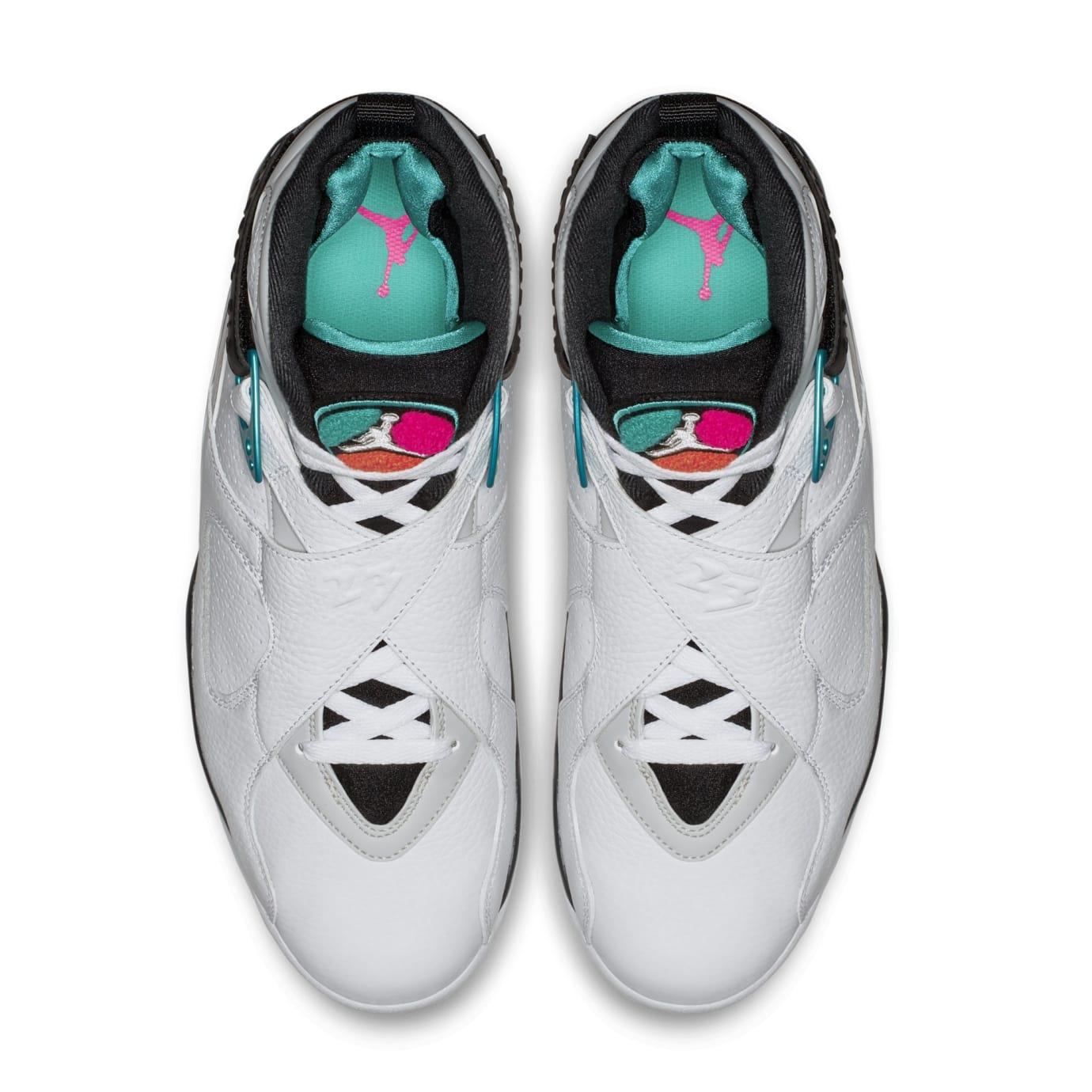 new style 62d62 666df Air Jordan 8 VIII South Beach Release Date 305381-113 | Sole ...