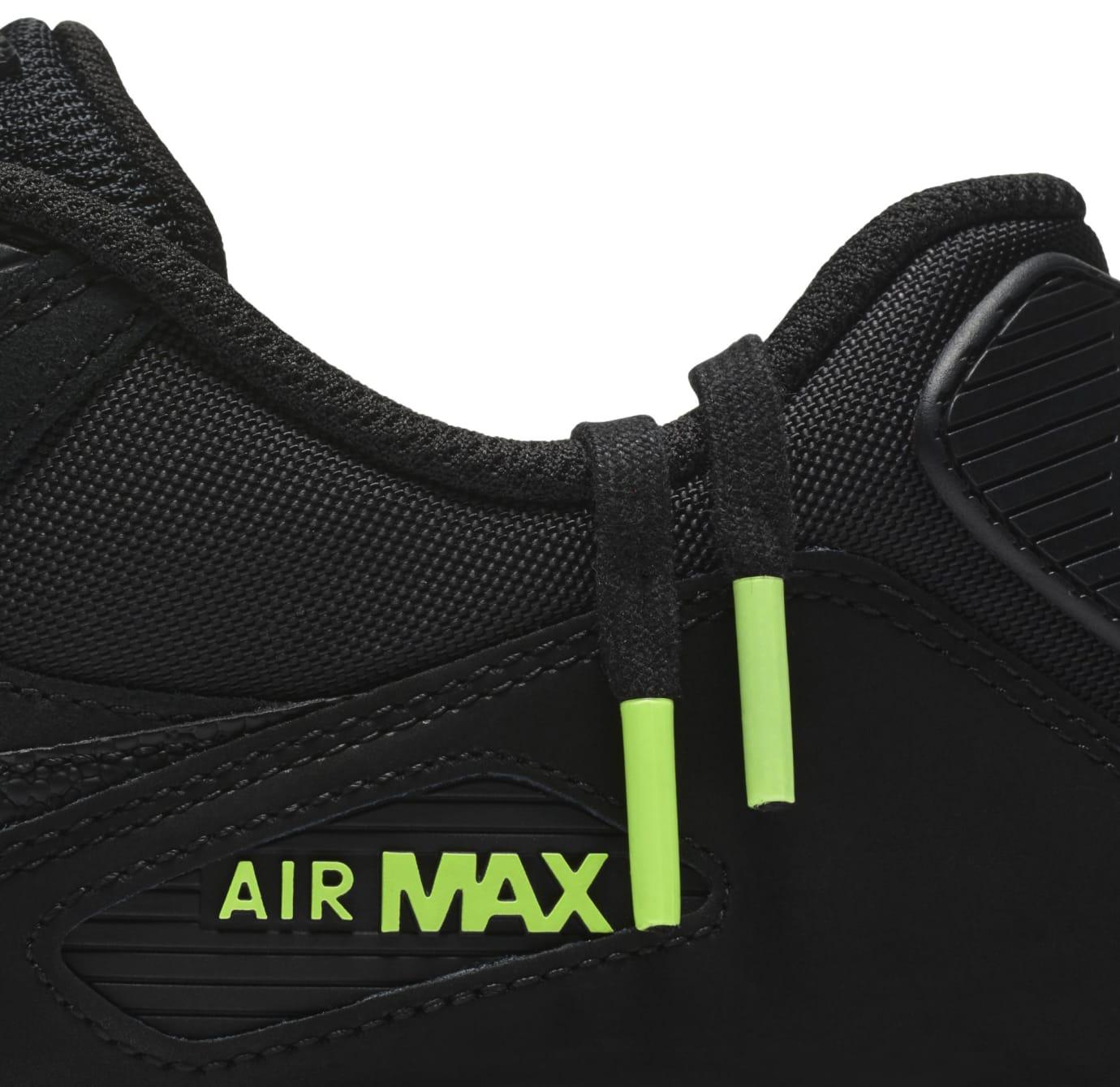 Nike Air Max 90 'Black/Volt' AQ6101-001 (Detail)