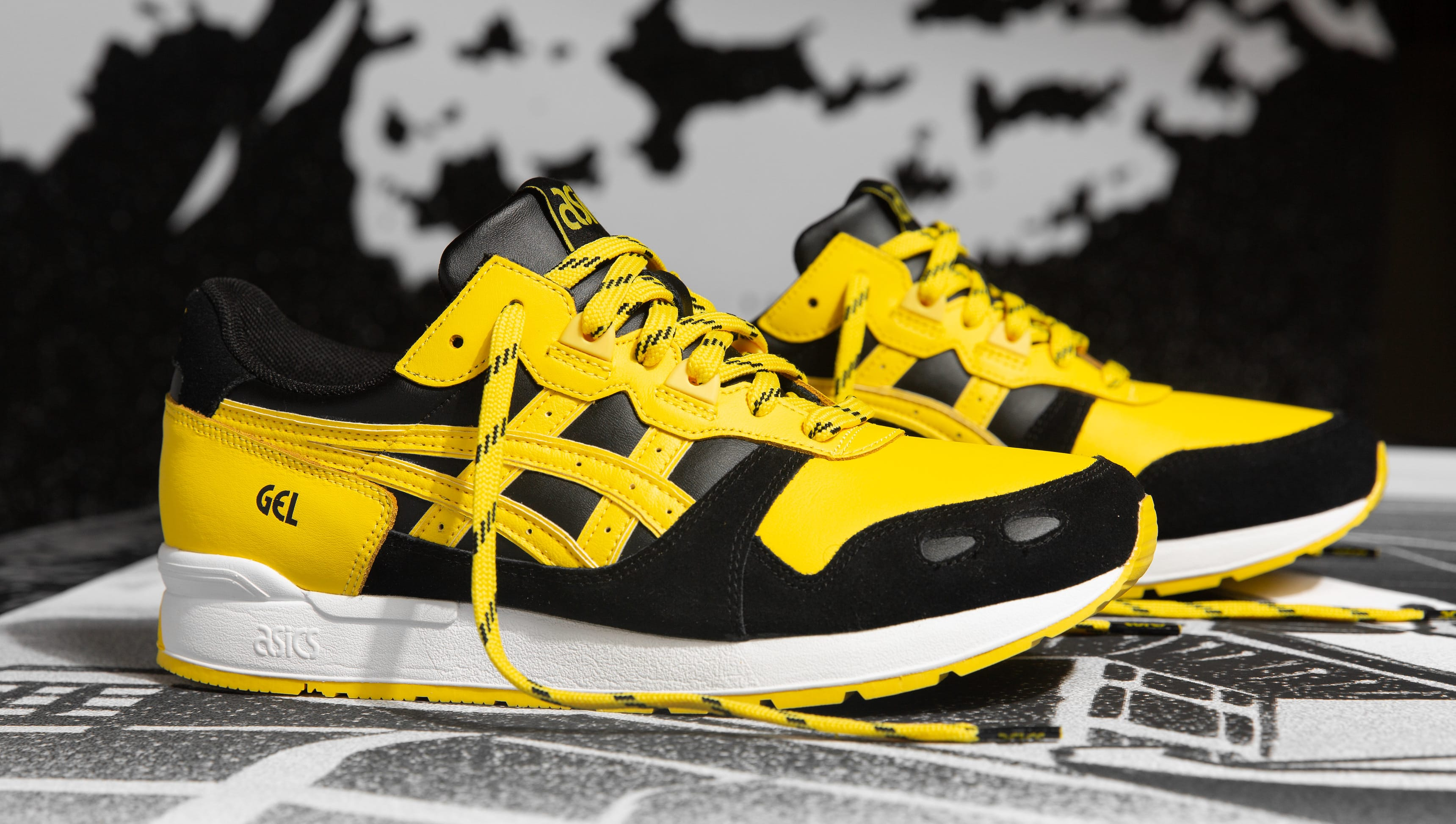 new styles 99a95 e5041 Asics Gel-Lyte 1 and Gel-Diablo 'Welcome to the Dojo ...